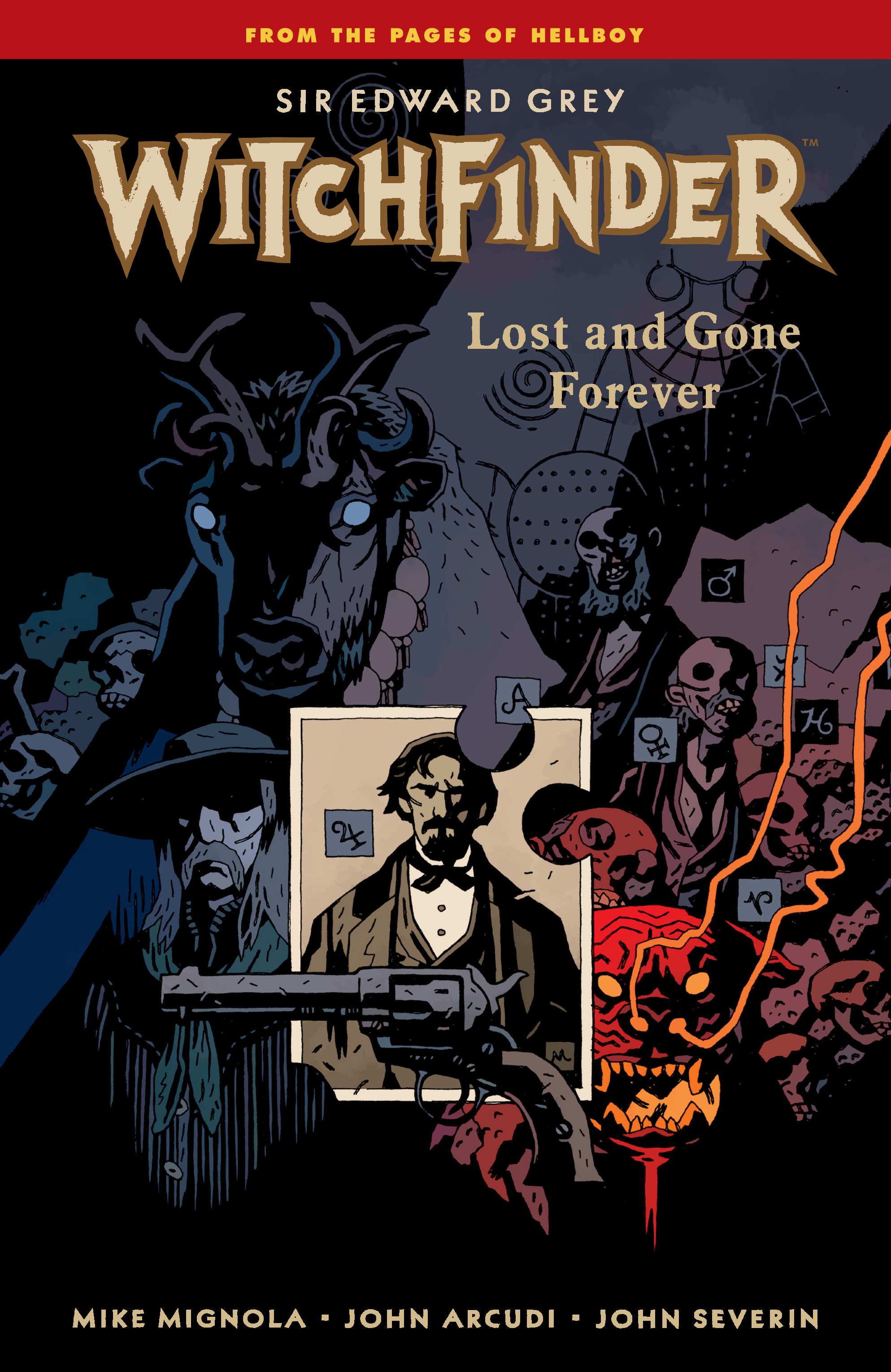 Read online Sir Edward Grey, Witchfinder: Lost and Gone Forever comic -  Issue # TPB - 1