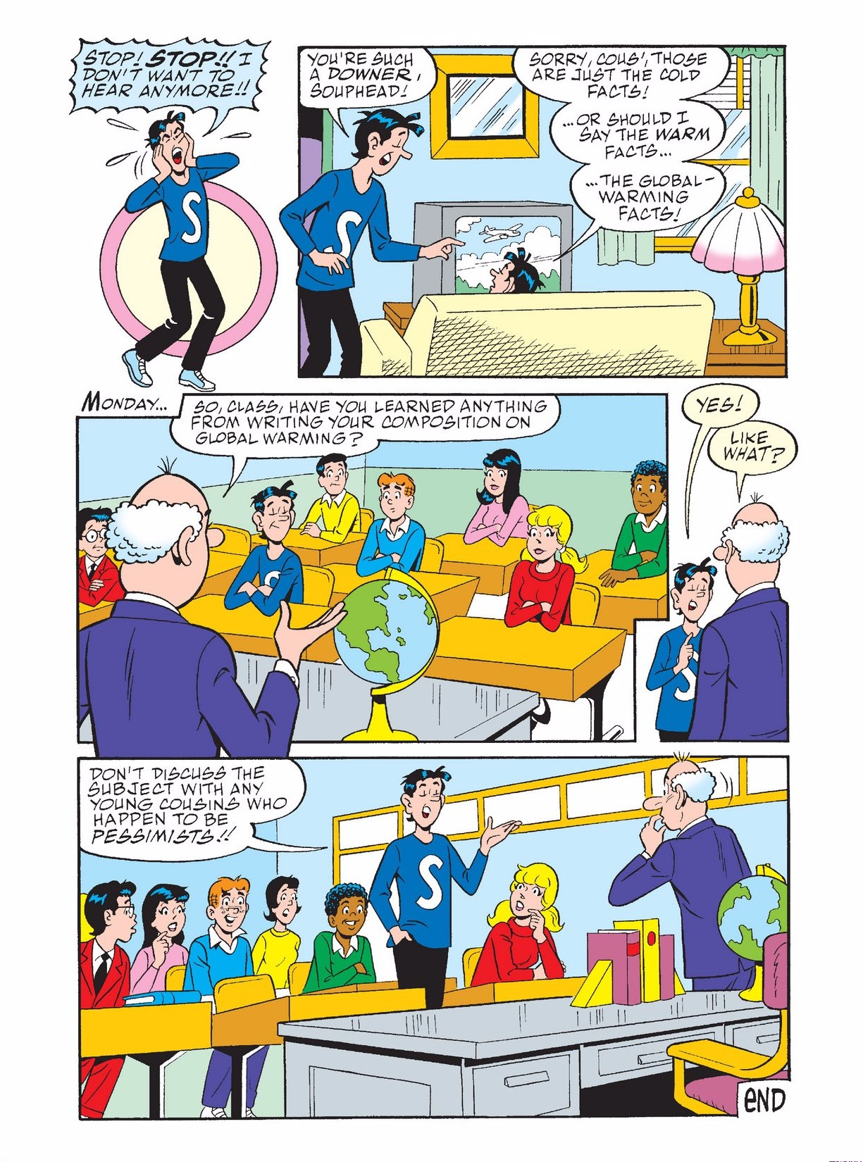 Read online Archie 1000 Page Comics Bonanza comic -  Issue #3 (Part 1) - 7