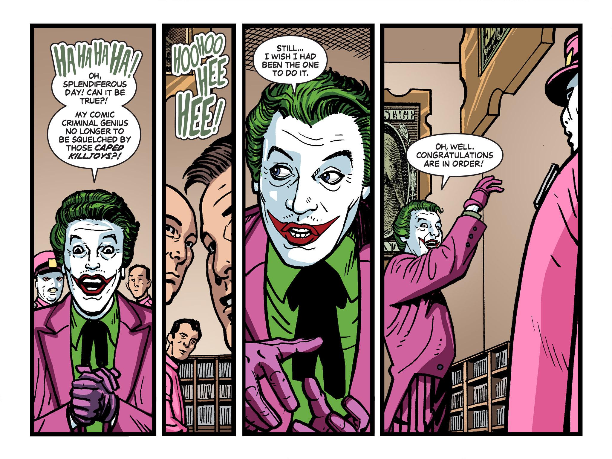 Read online Batman '66 Meets the Green Hornet [II] comic -  Issue #4 - 18