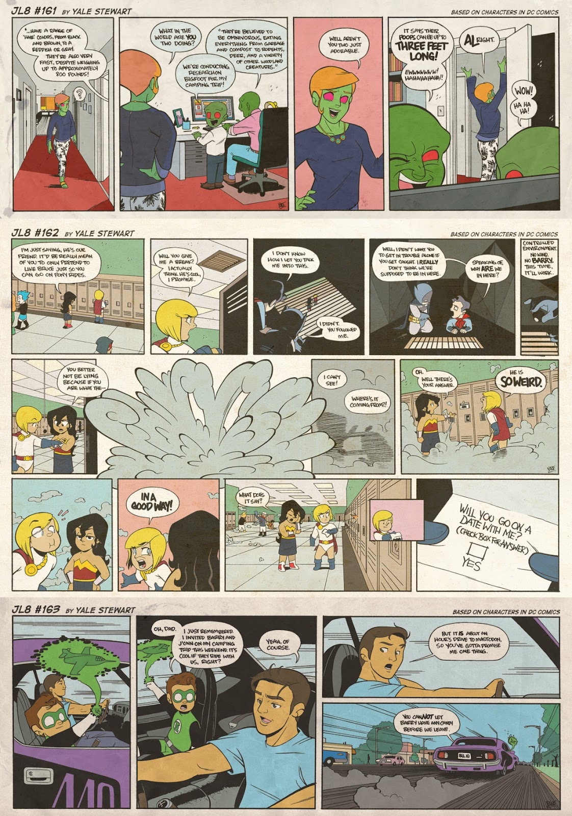 Read online JL8 – The Complete Collection comic -  Issue # TPB (Part 1) - 85