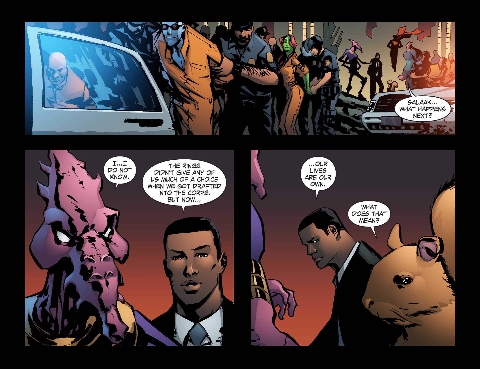Read online Smallville: Lantern [I] comic -  Issue #12 - 13