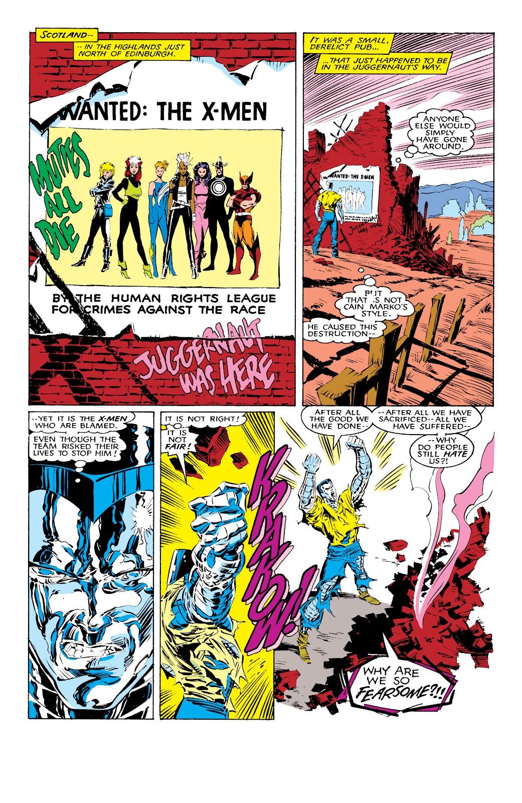 Read online X-Men Milestones: Fall of the Mutants comic -  Issue # TPB (Part 1) - 12