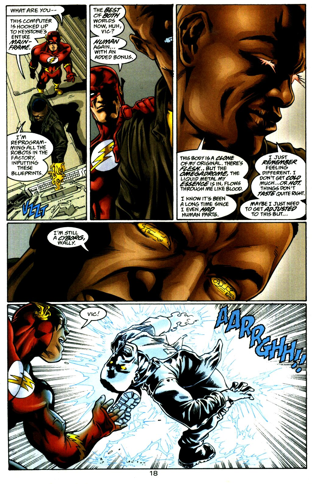 Read online The Flash: Our Worlds at War comic -  Issue # Full - 18