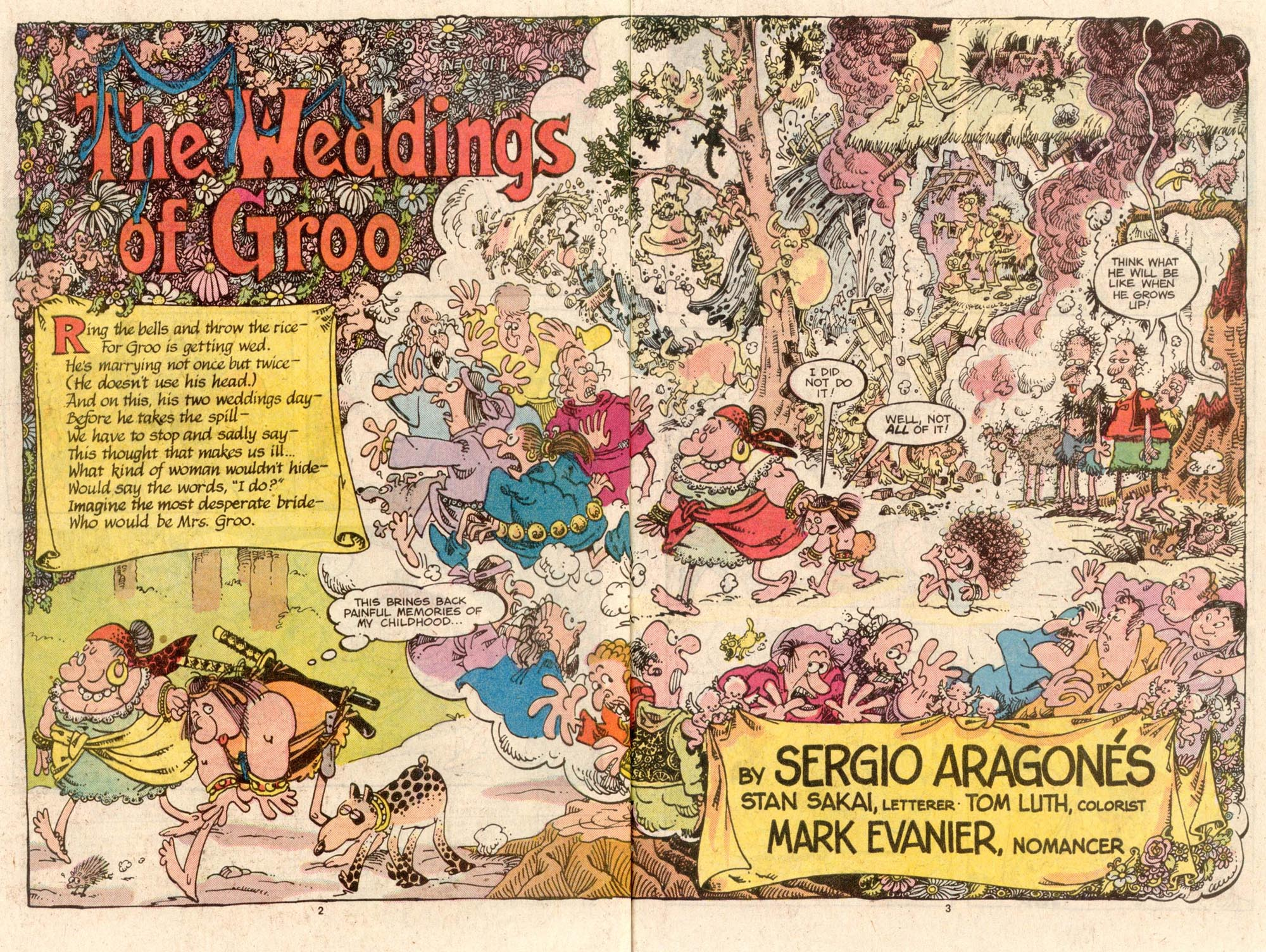 Read online Sergio Aragonés Groo the Wanderer comic -  Issue #42 - 3