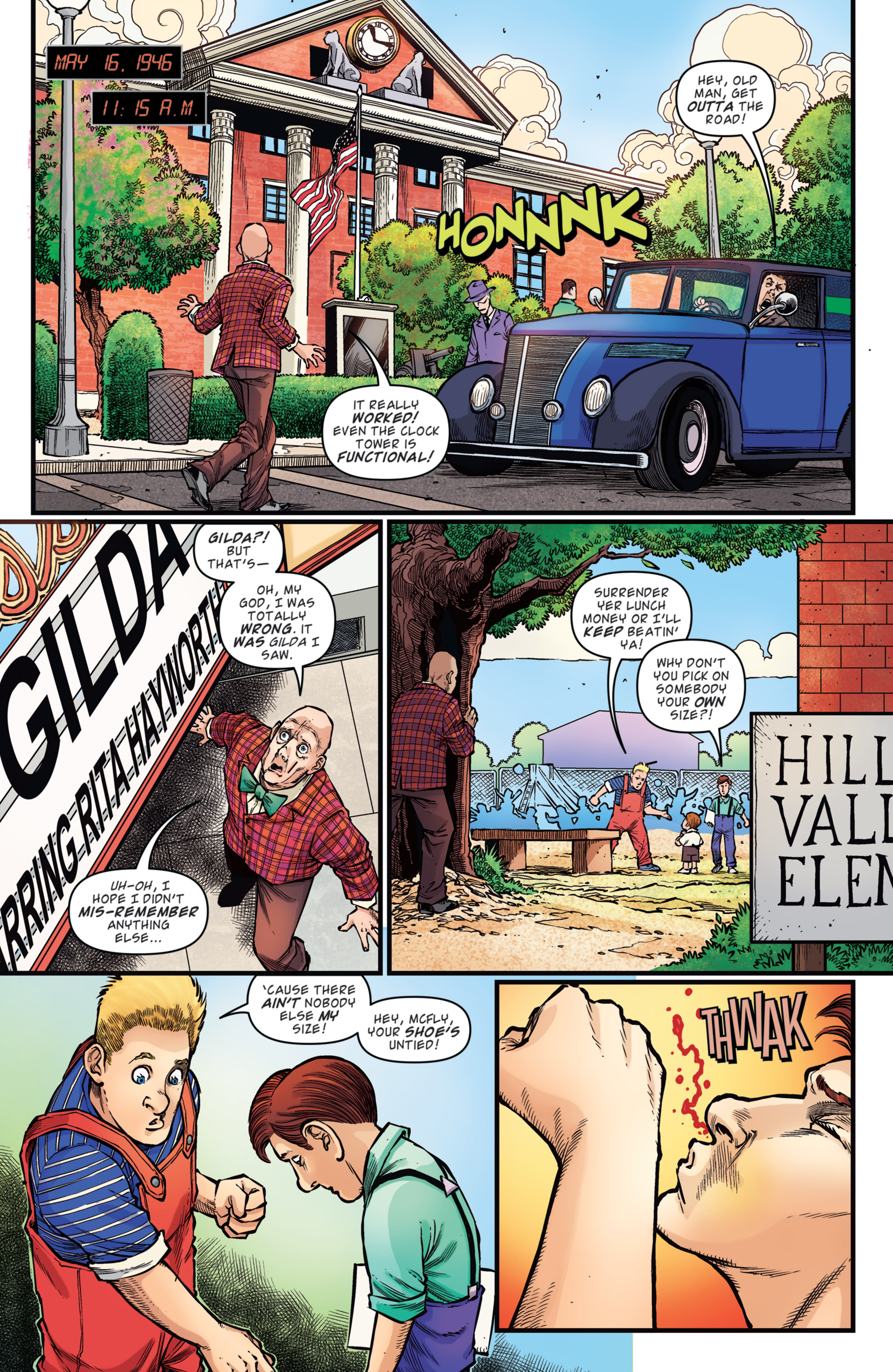 Read online Back to the Future: Biff to the Future comic -  Issue #5 - 8