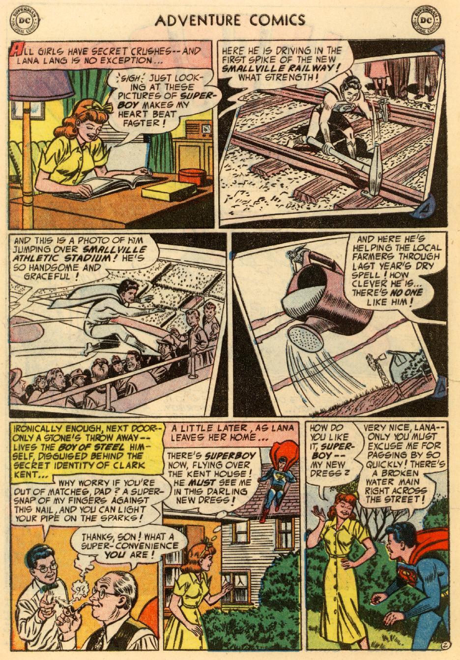 Read online Adventure Comics (1938) comic -  Issue #195 - 4