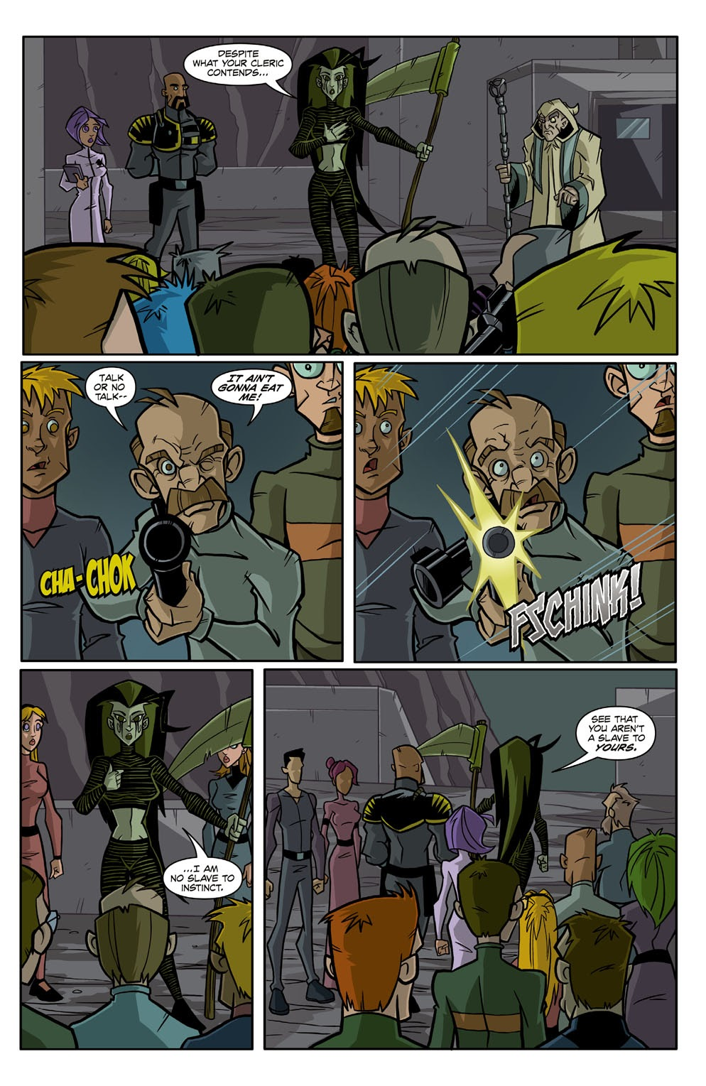 Read online Xombie Reanimated comic -  Issue #3 - 18