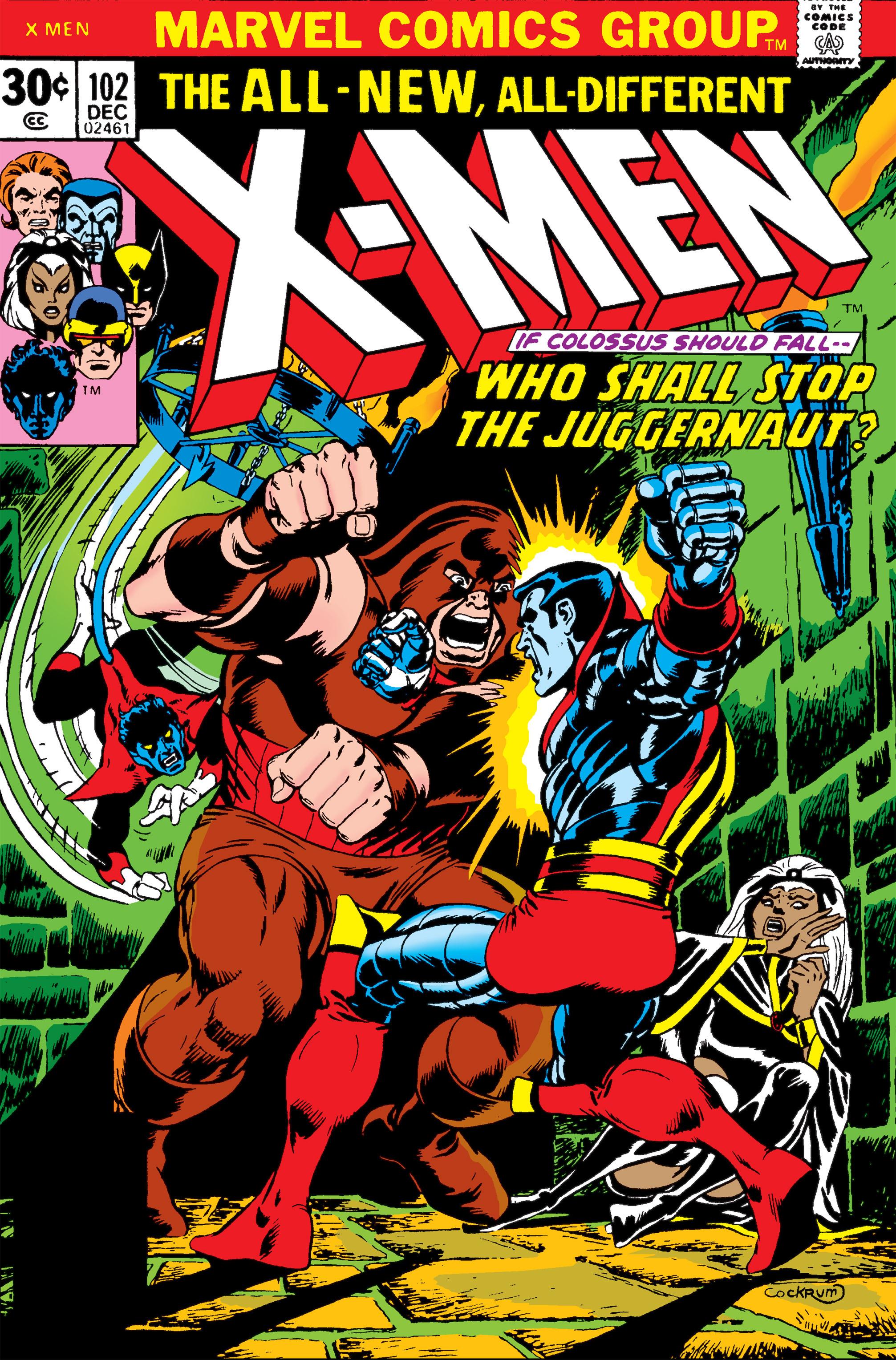 Uncanny X-Men (1963) 102 Page 0