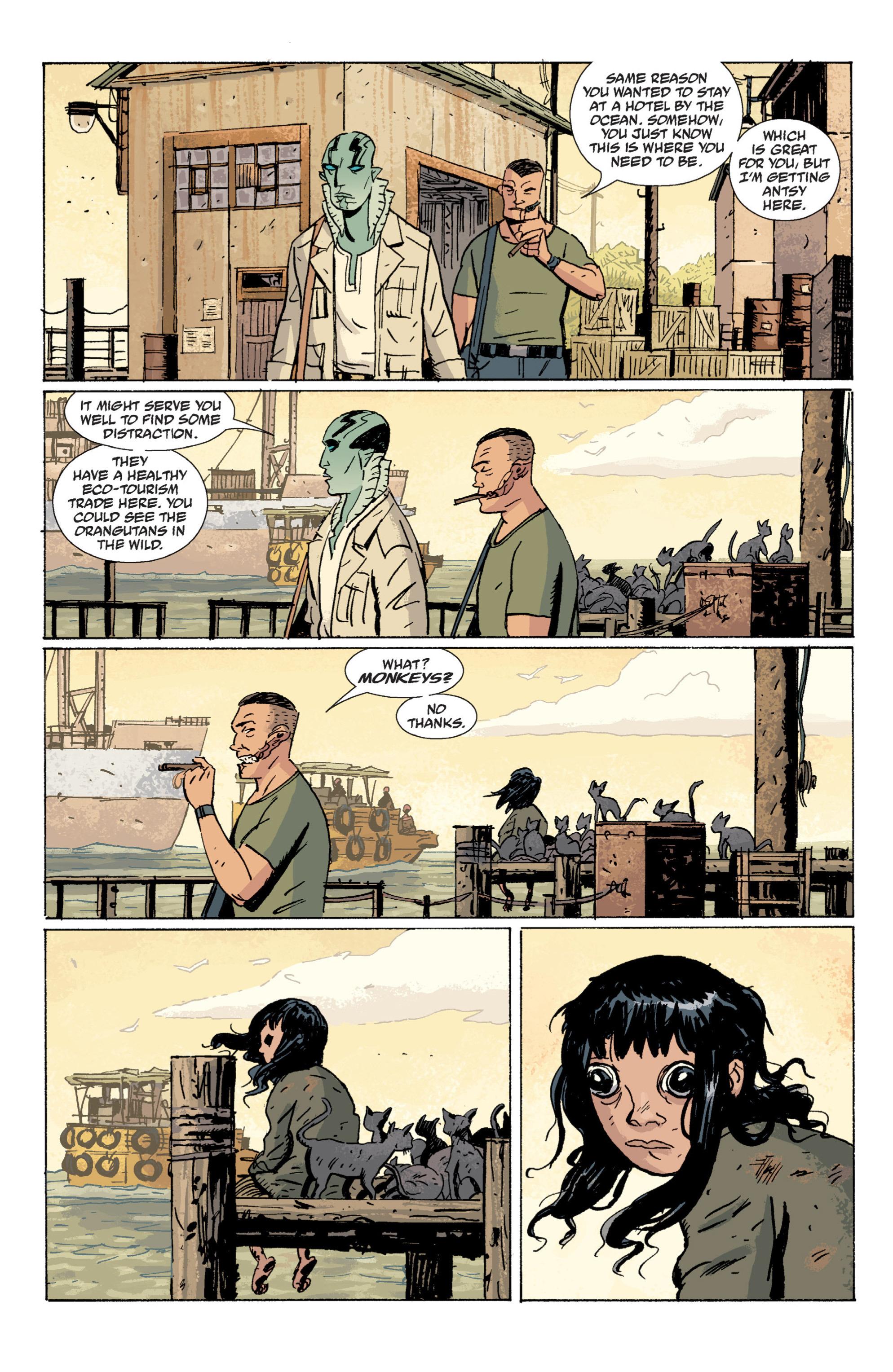 Read online B.P.R.D. (2003) comic -  Issue # TPB 7 - 39