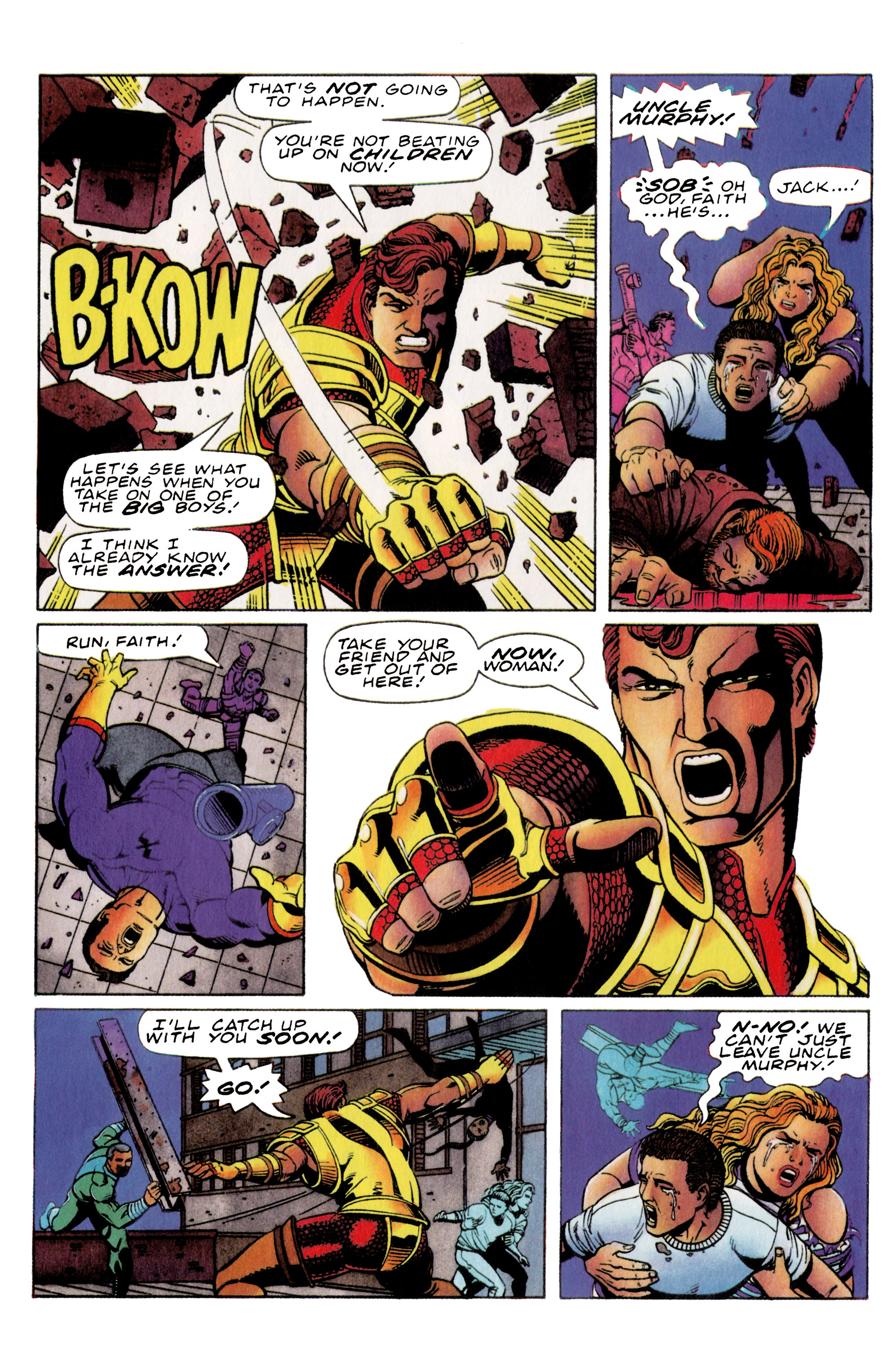 Read online Harbinger (1992) comic -  Issue #36 - 9