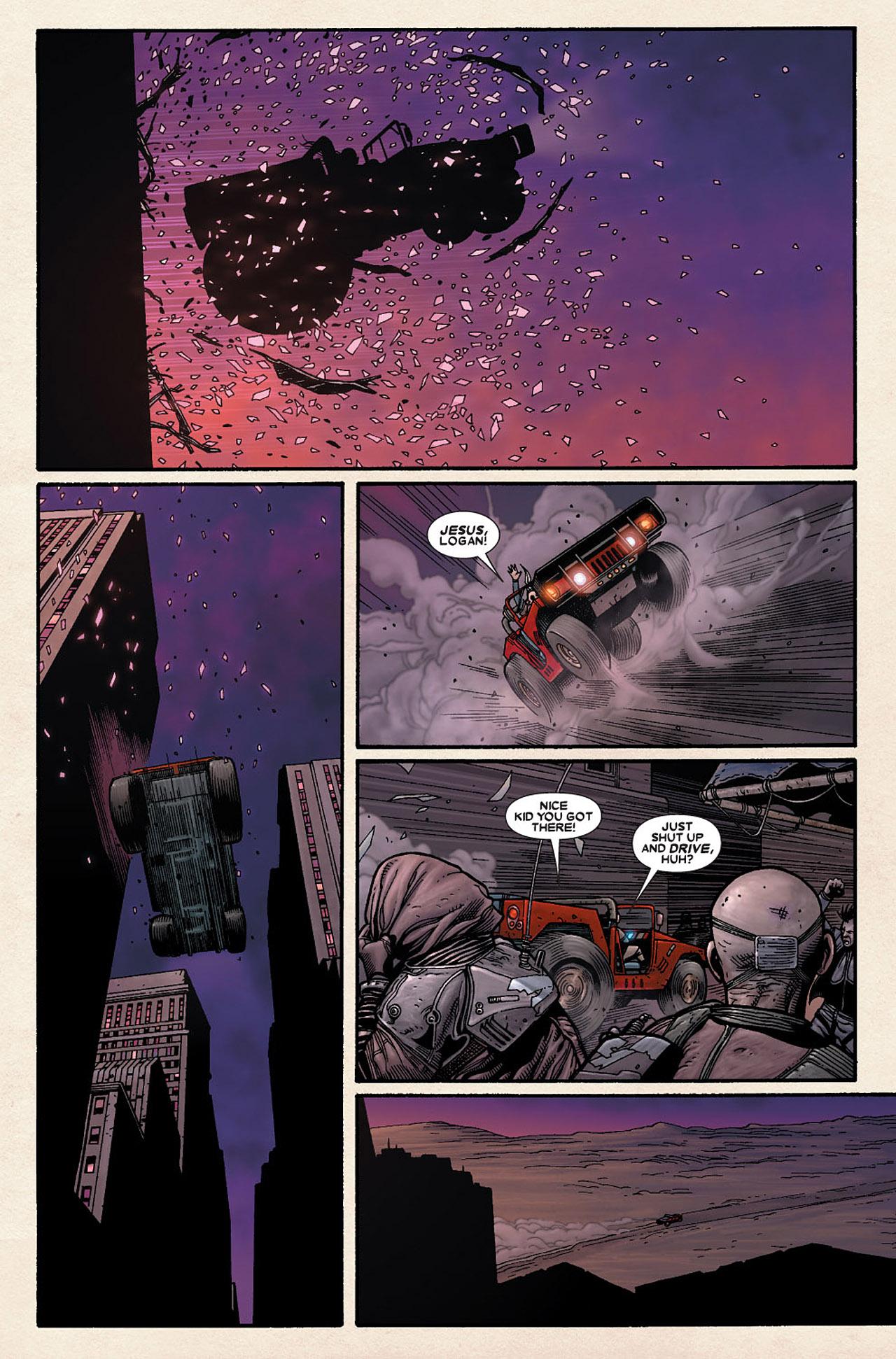 Read online Wolverine: Old Man Logan comic -  Issue # Full - 75