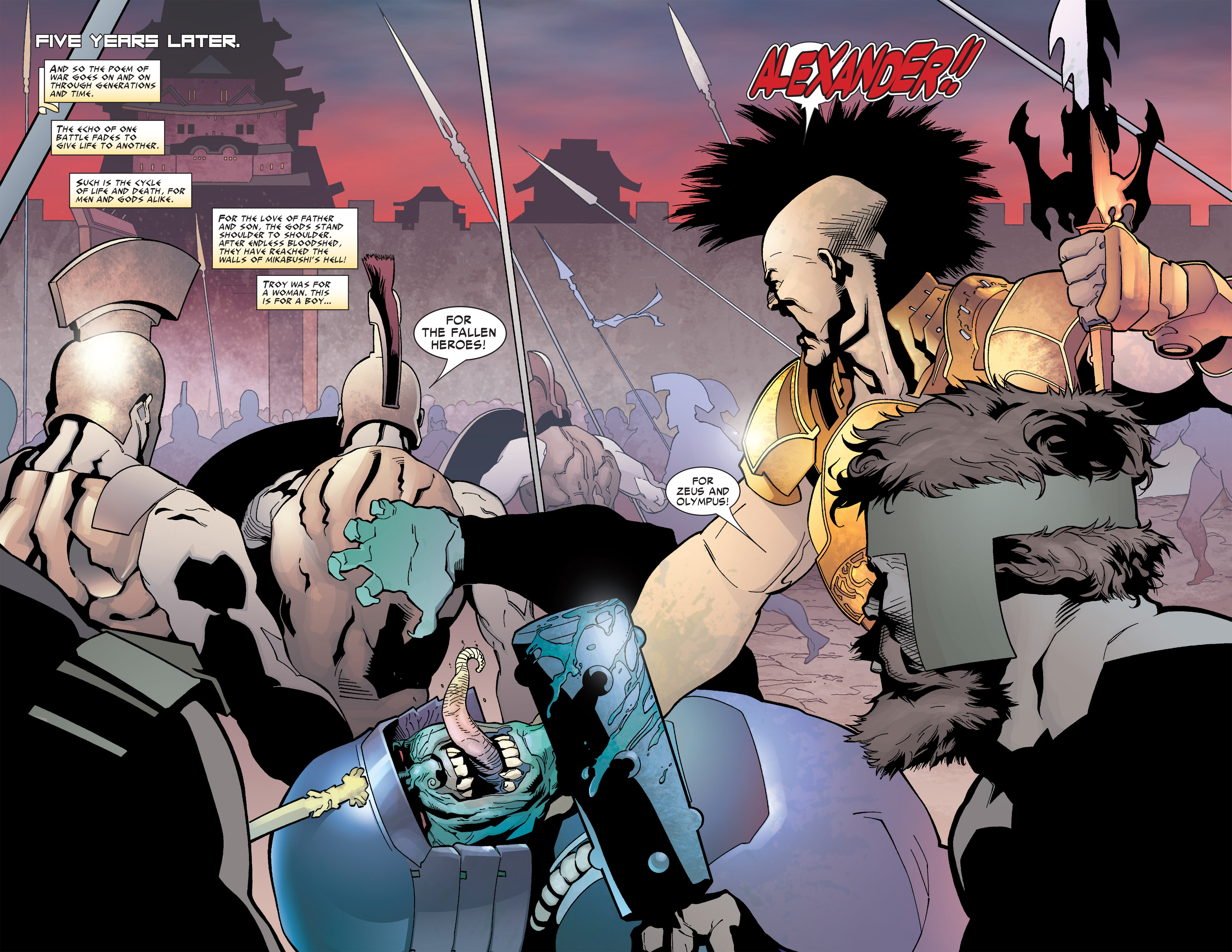 Read online Ares comic -  Issue #4 - 17