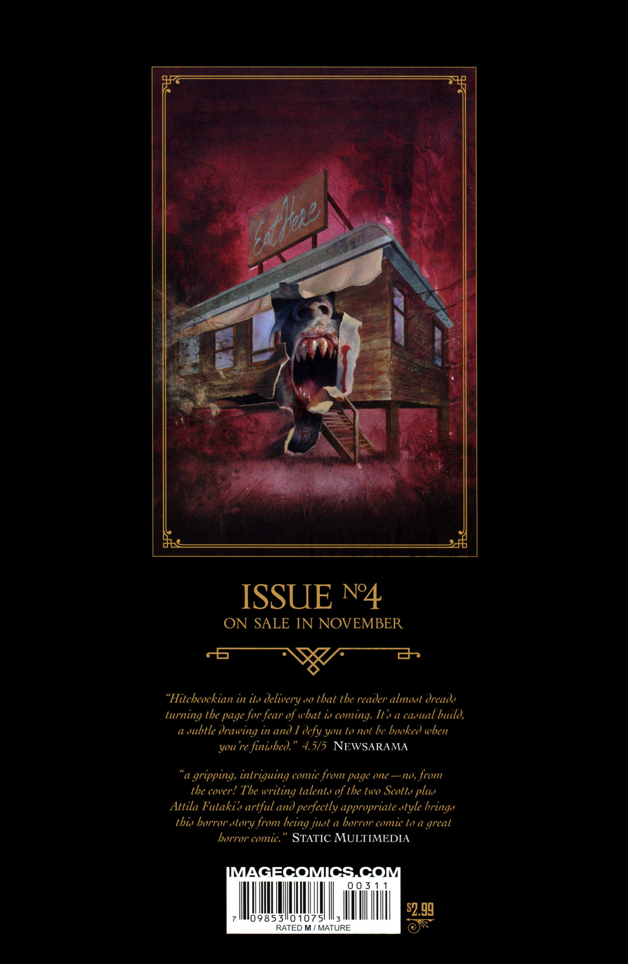 Read online Severed comic -  Issue #3 - 32