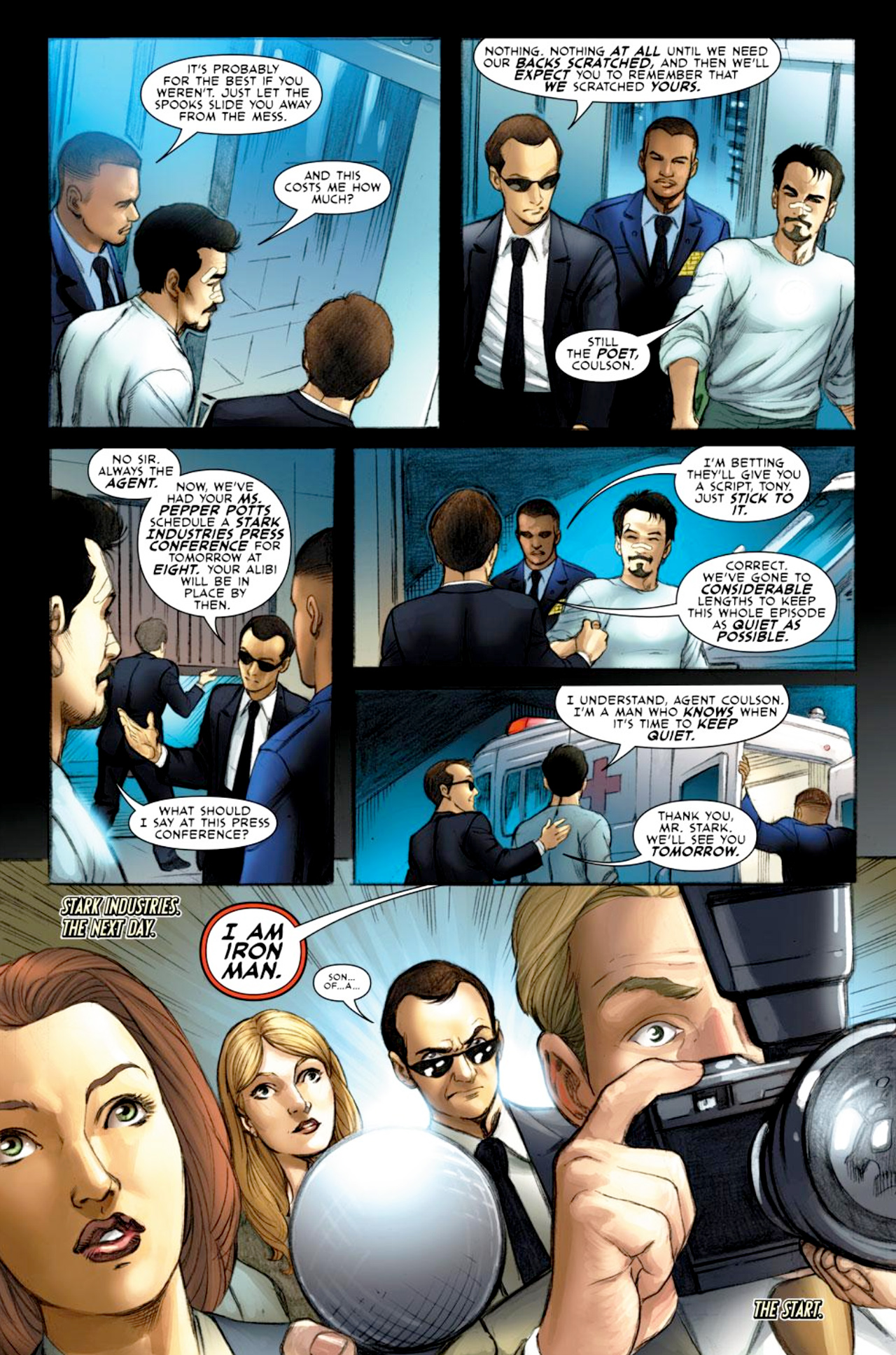Read online Iron Man: Fast Friends comic -  Issue #2 - 7