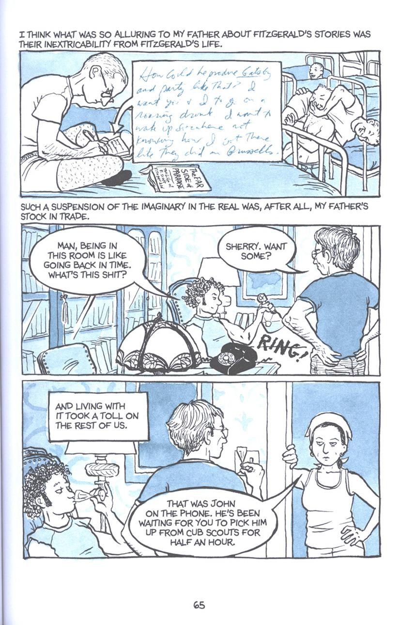 Read online Fun Home: A Family Tragicomic comic -  Issue # TPB - 72