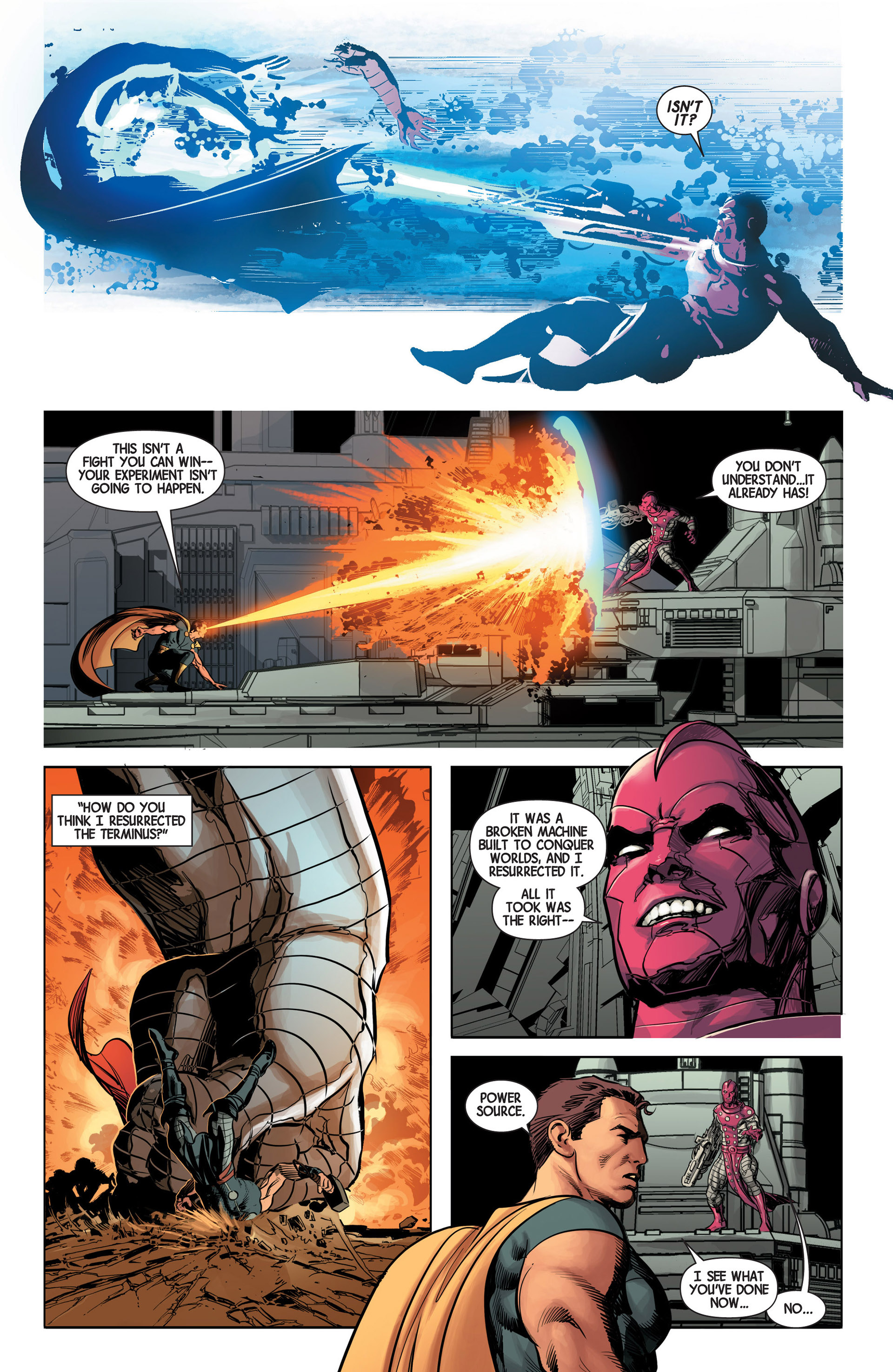 Read online Avengers (2013) comic -  Issue #13 - 19