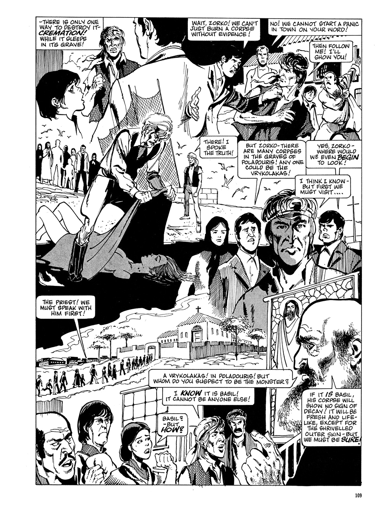 Read online Eerie Archives comic -  Issue # TPB 5 - 110