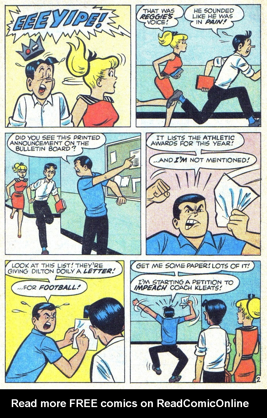 Read online Archie (1960) comic -  Issue #166 - 4