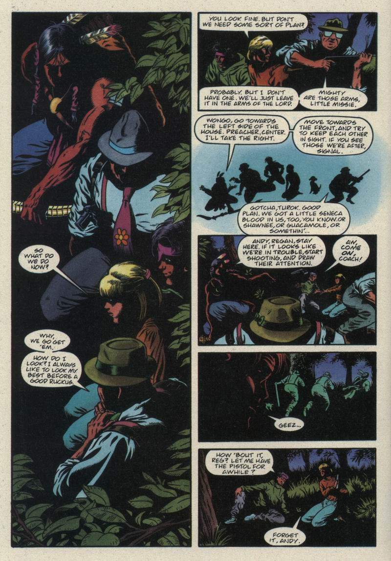 Read online Turok, Dinosaur Hunter (1993) comic -  Issue #21 - 19