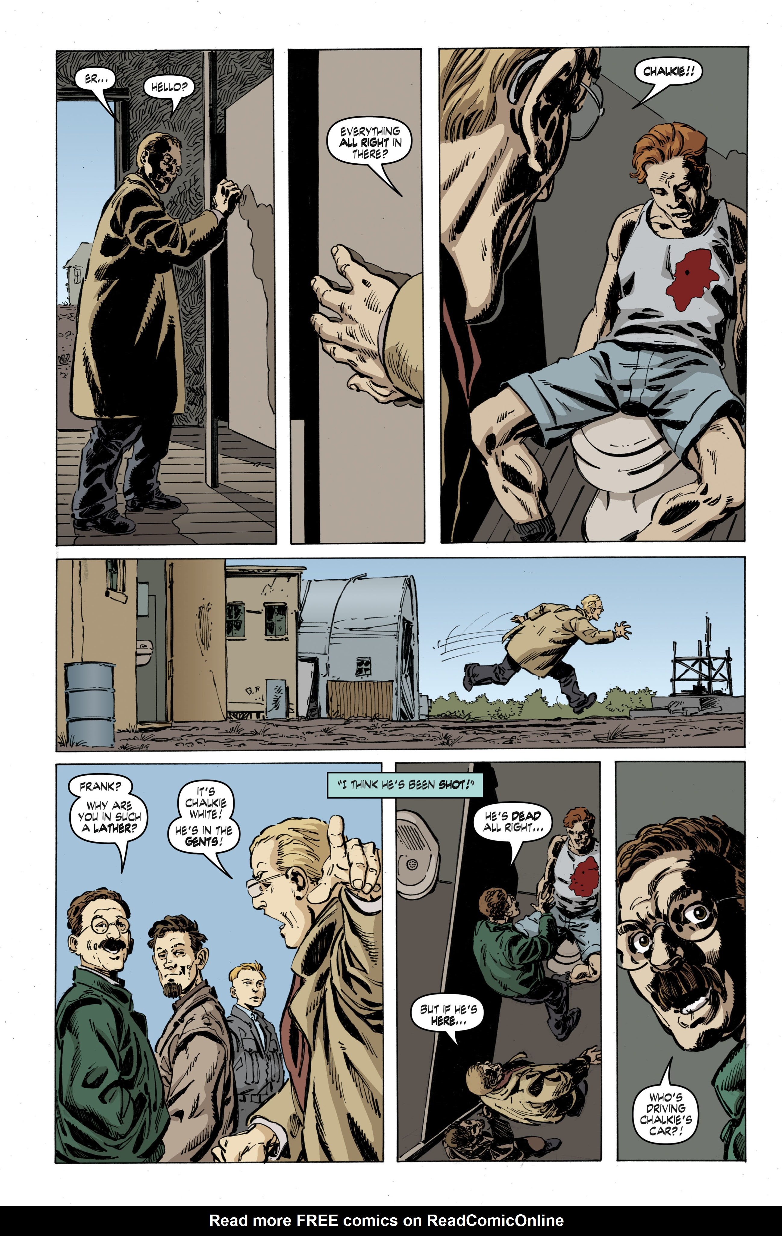 Read online Cold War comic -  Issue # TPB - 53