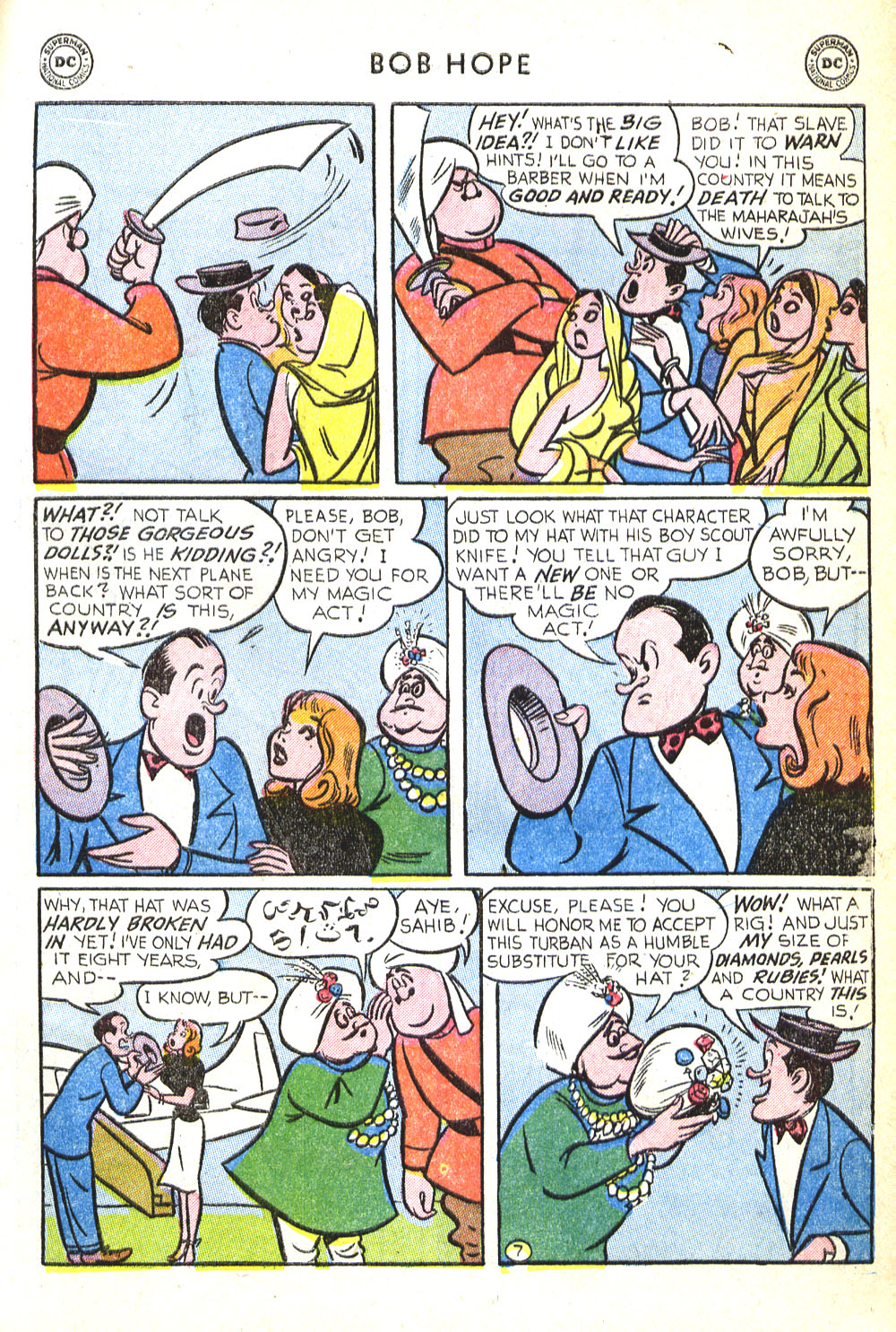 The Adventures of Bob Hope issue 30 - Page 9