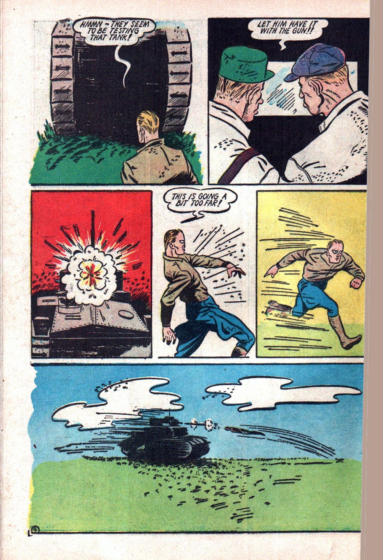 Read online Amazing Man Comics comic -  Issue #20 - 61