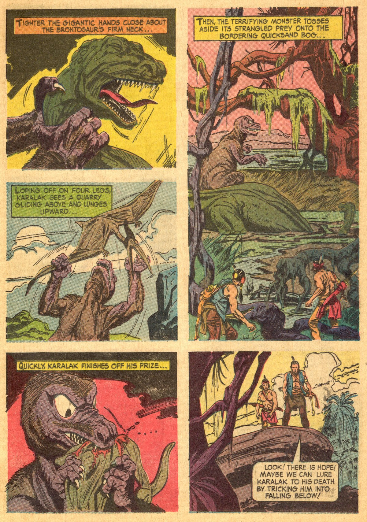 Read online Turok, Son of Stone comic -  Issue #46 - 13