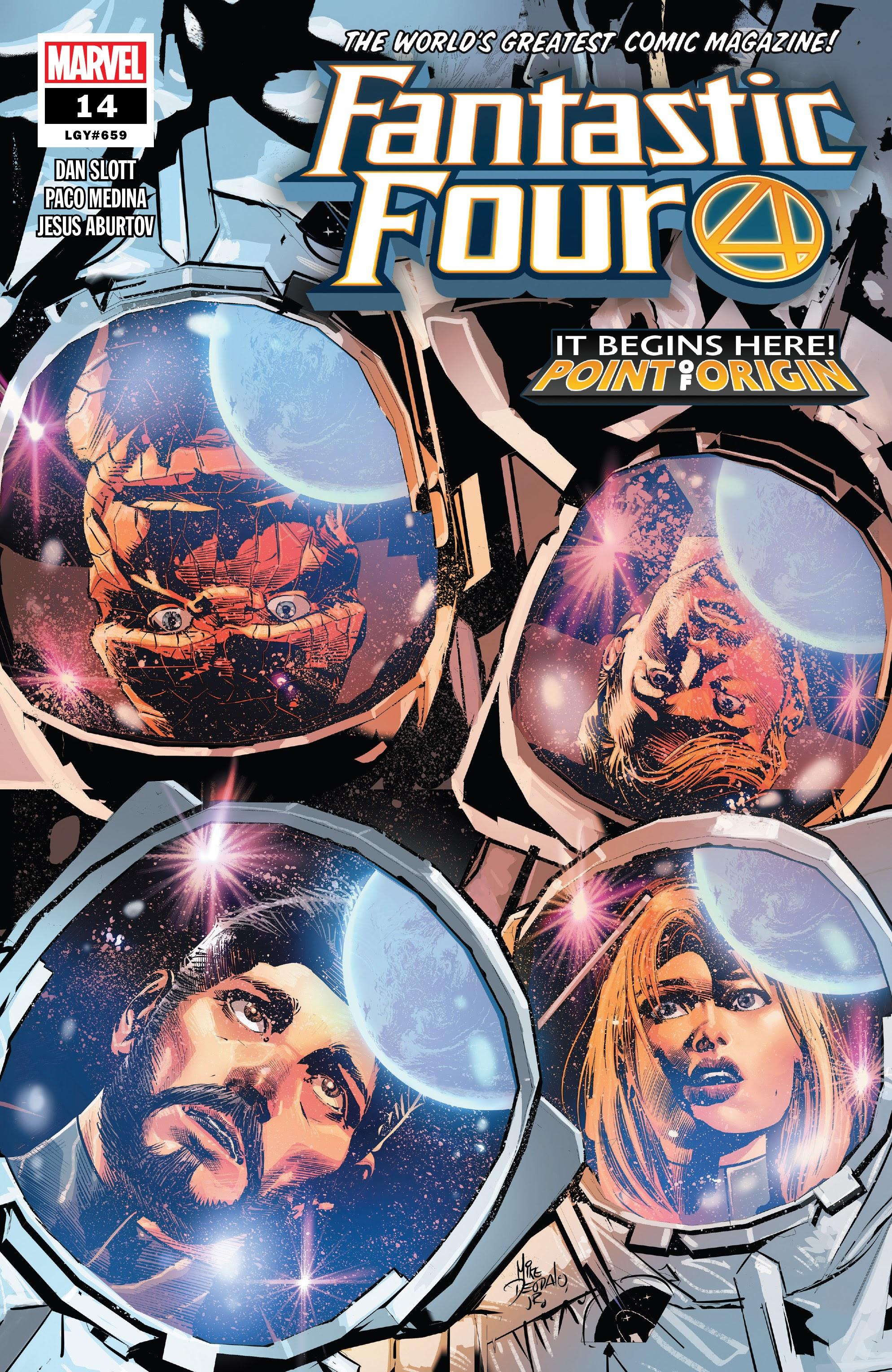 Fantastic Four (2018) 14 Page 1
