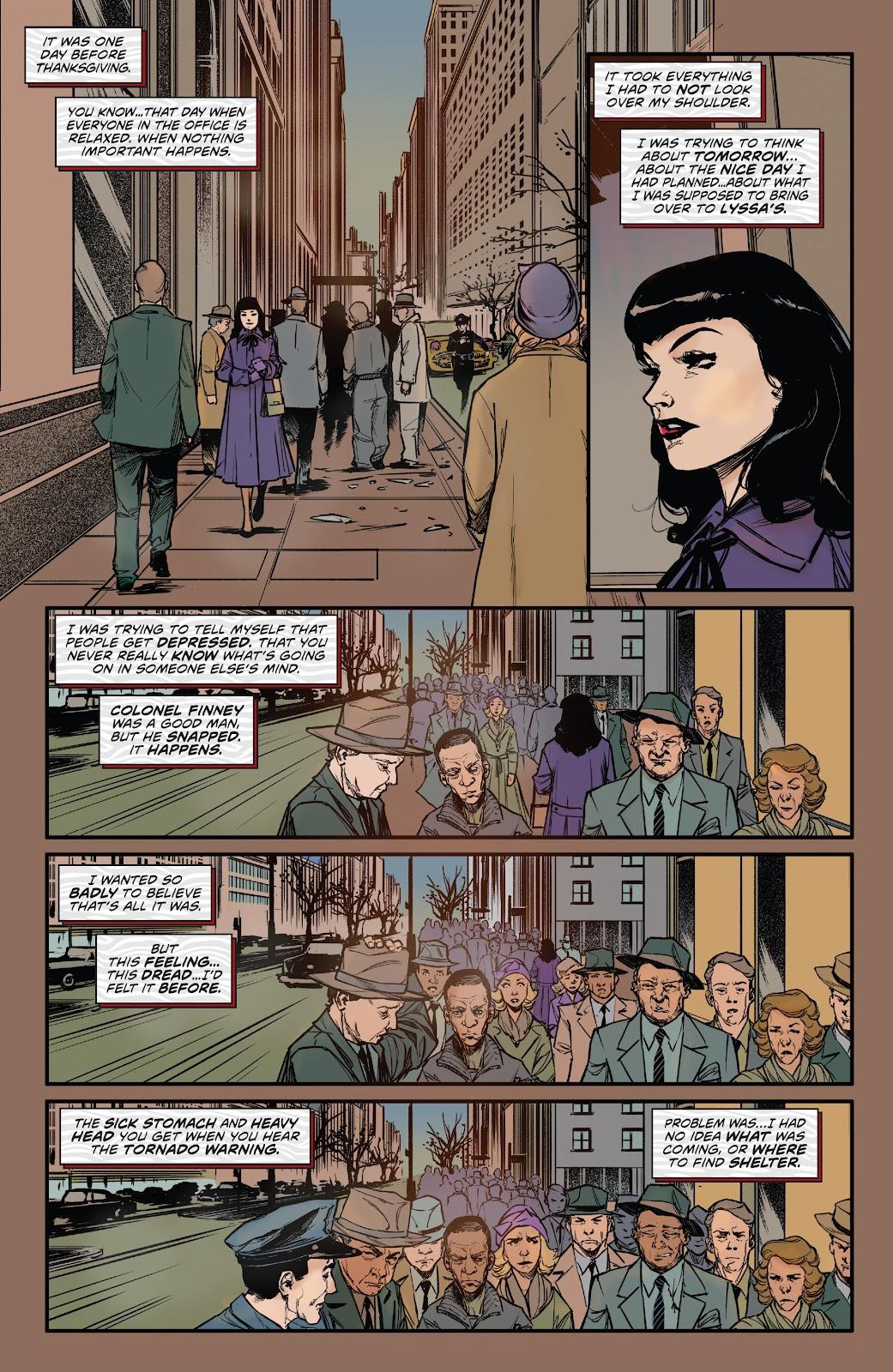 Read online Bettie Page: Unbound comic -  Issue #6 - 11