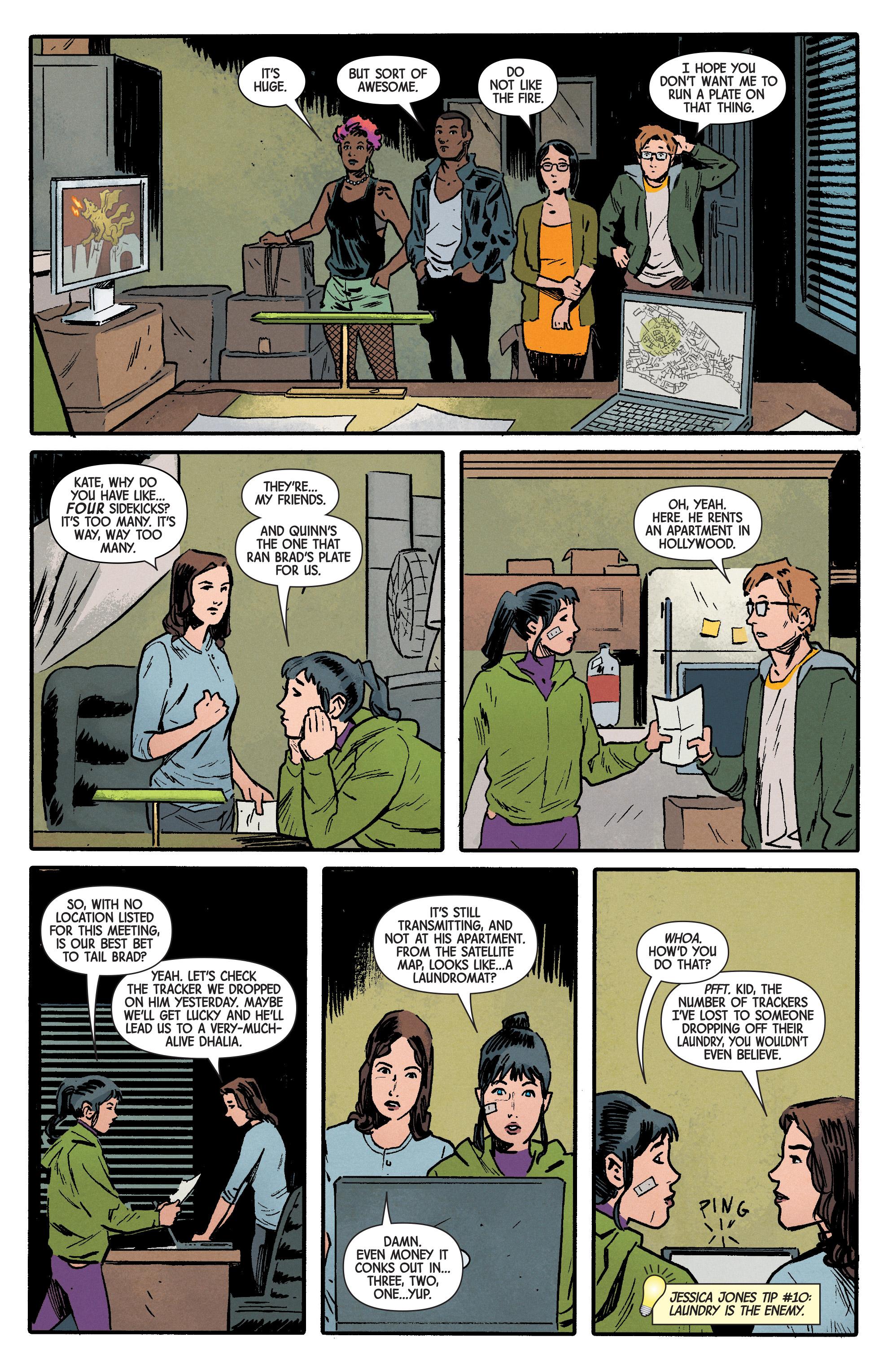Read online Hawkeye (2016) comic -  Issue #6 - 6