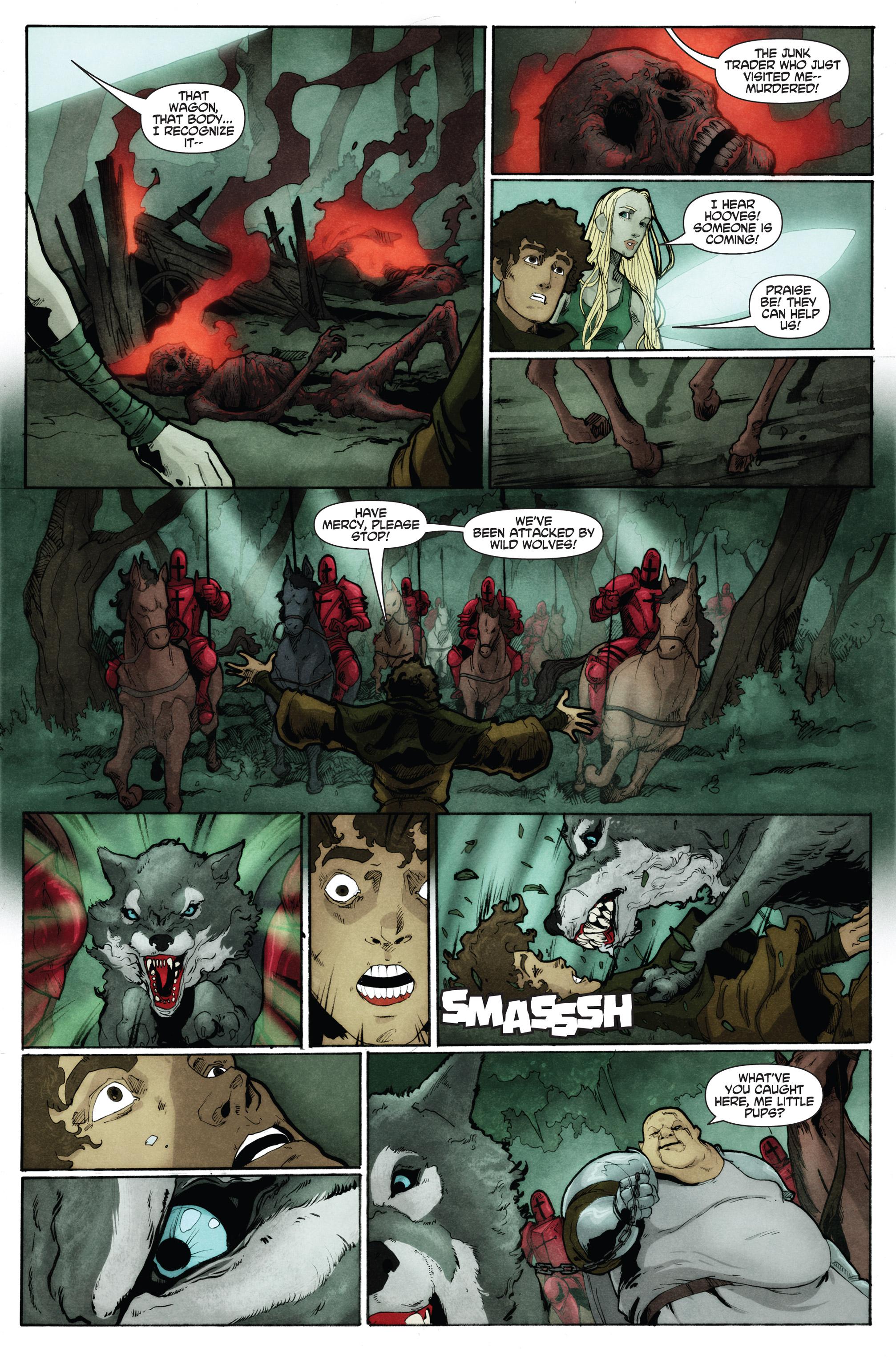 Read online Plague comic -  Issue #2 - 14