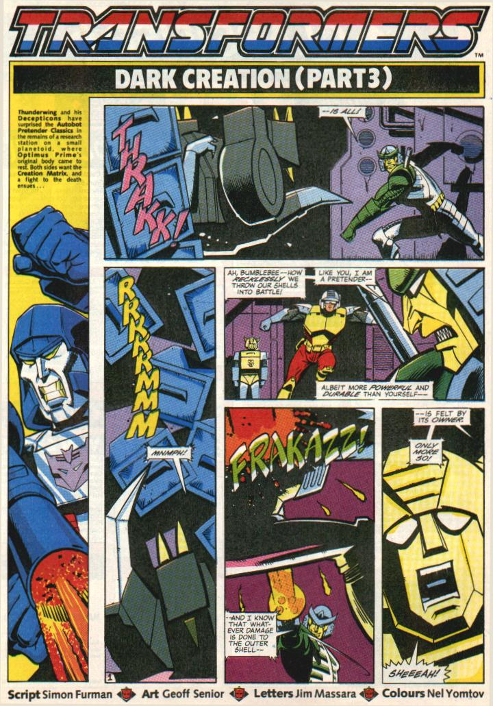 The Transformers (UK) 292 Page 1