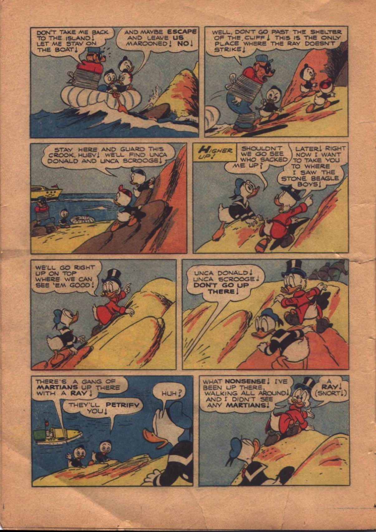 Read online Uncle Scrooge (1953) comic -  Issue #8 - 16