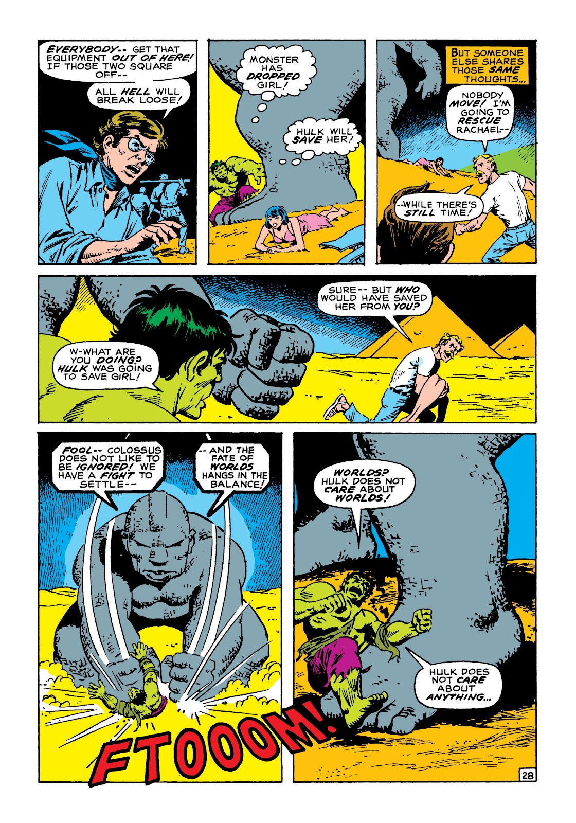 Read online Marvel Masterworks: The Incredible Hulk comic -  Issue # TPB 8 (Part 1) - 35