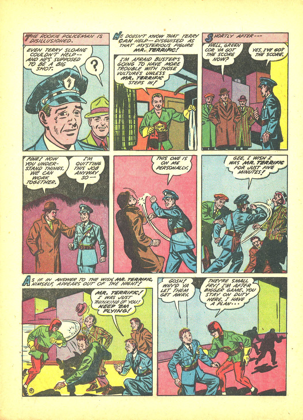 Read online Sensation (Mystery) Comics comic -  Issue #4 - 28