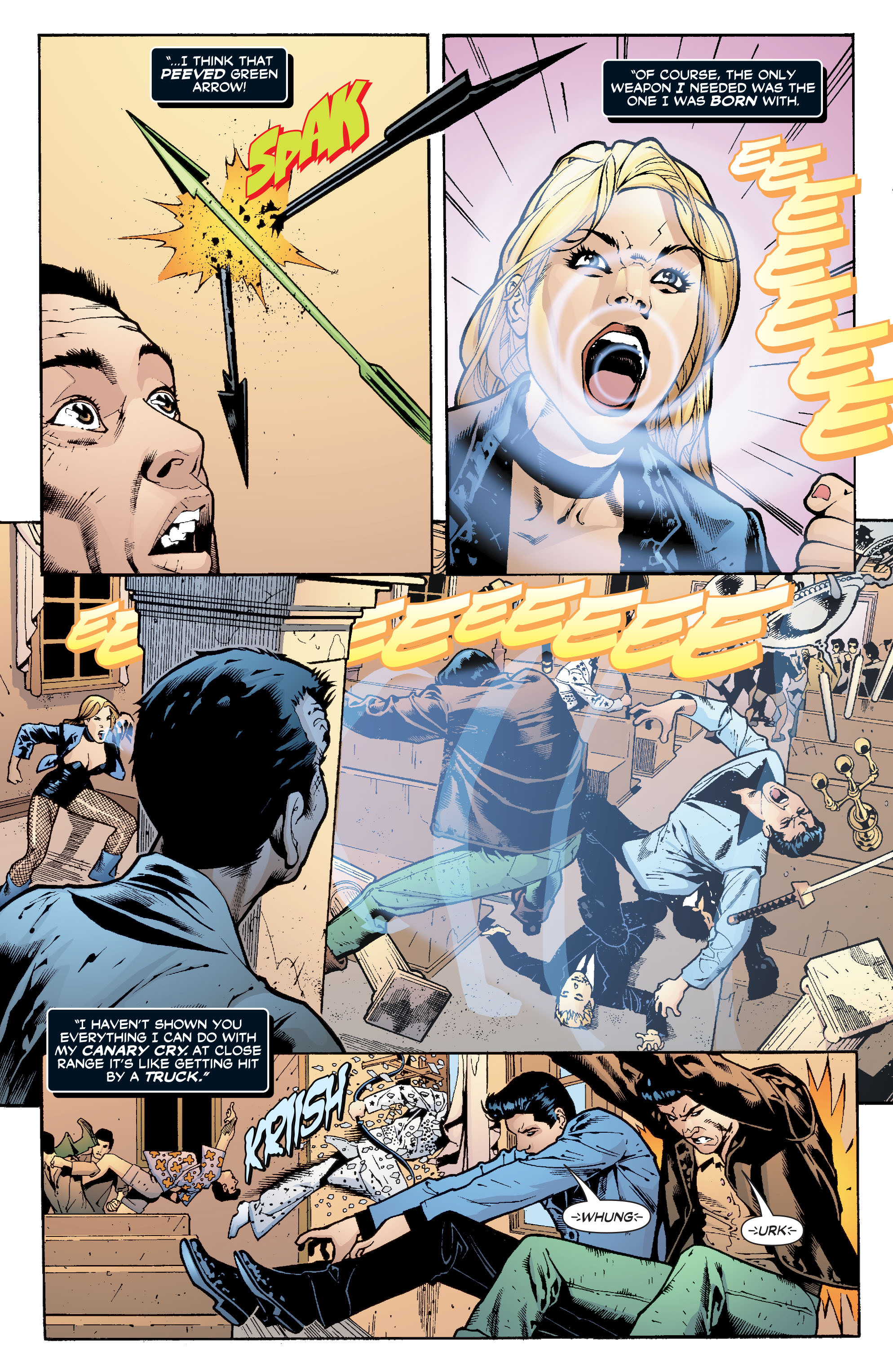 Read online Black Canary (2007) comic -  Issue #1 - 5