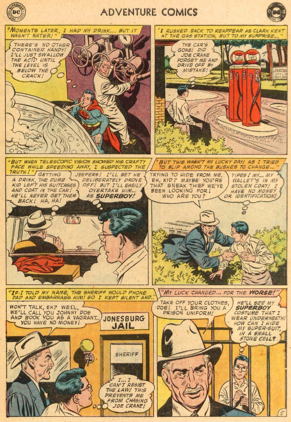 Read online Adventure Comics (1938) comic -  Issue #249 - 7