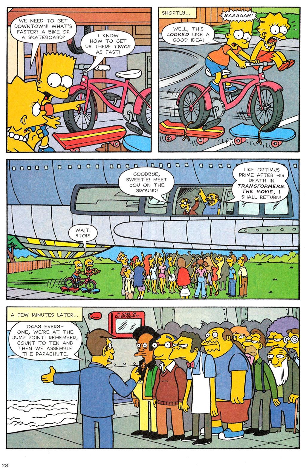 Read online Simpsons Comics comic -  Issue #118 - 23