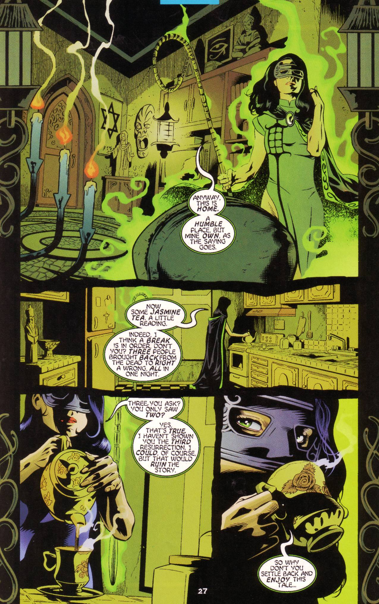 Read online Tangent Comics/ Green Lantern comic -  Issue # Full - 28