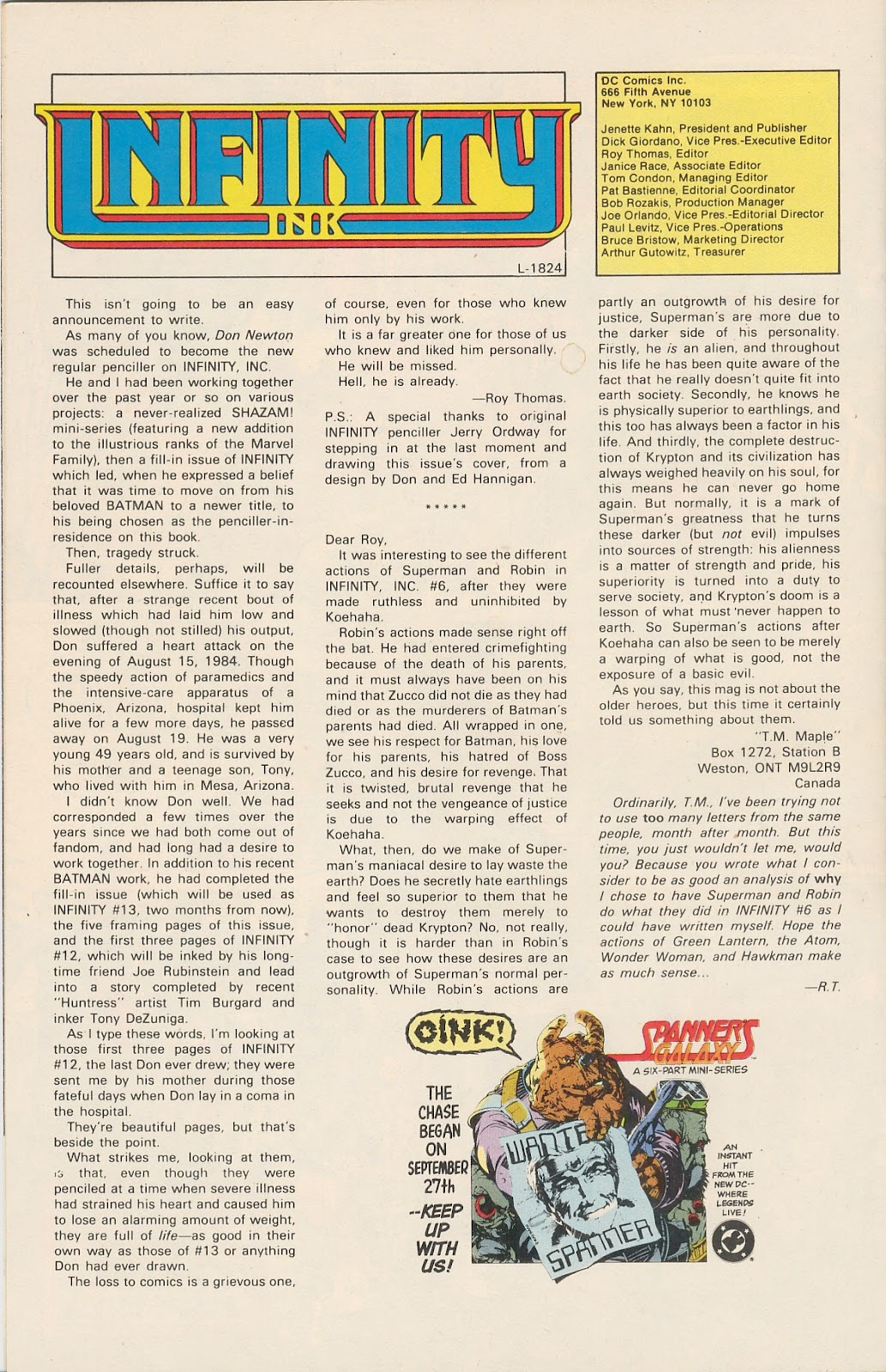 Infinity Inc. (1984) issue 11 - Page 34