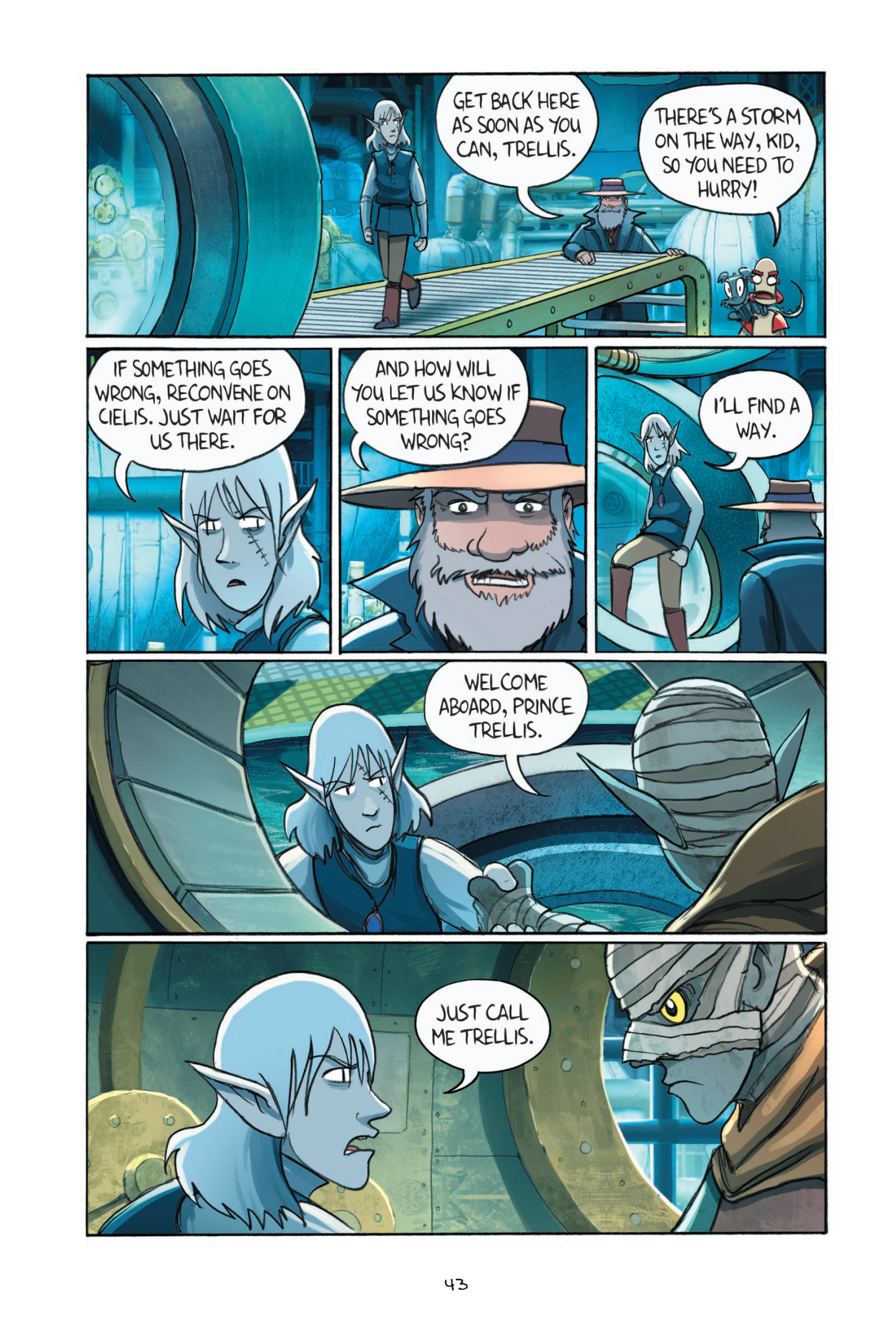 Read online Amulet comic -  Issue #7 - 46