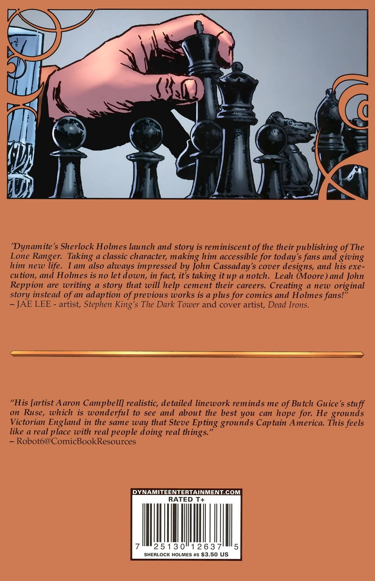 Read online Sherlock Holmes (2009) comic -  Issue #5 - 25