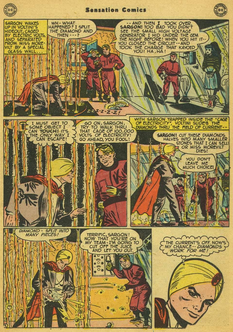Read online Sensation (Mystery) Comics comic -  Issue #80 - 26