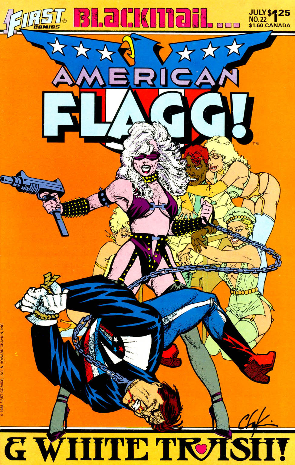 Read online American Flagg! comic -  Issue #22 - 1