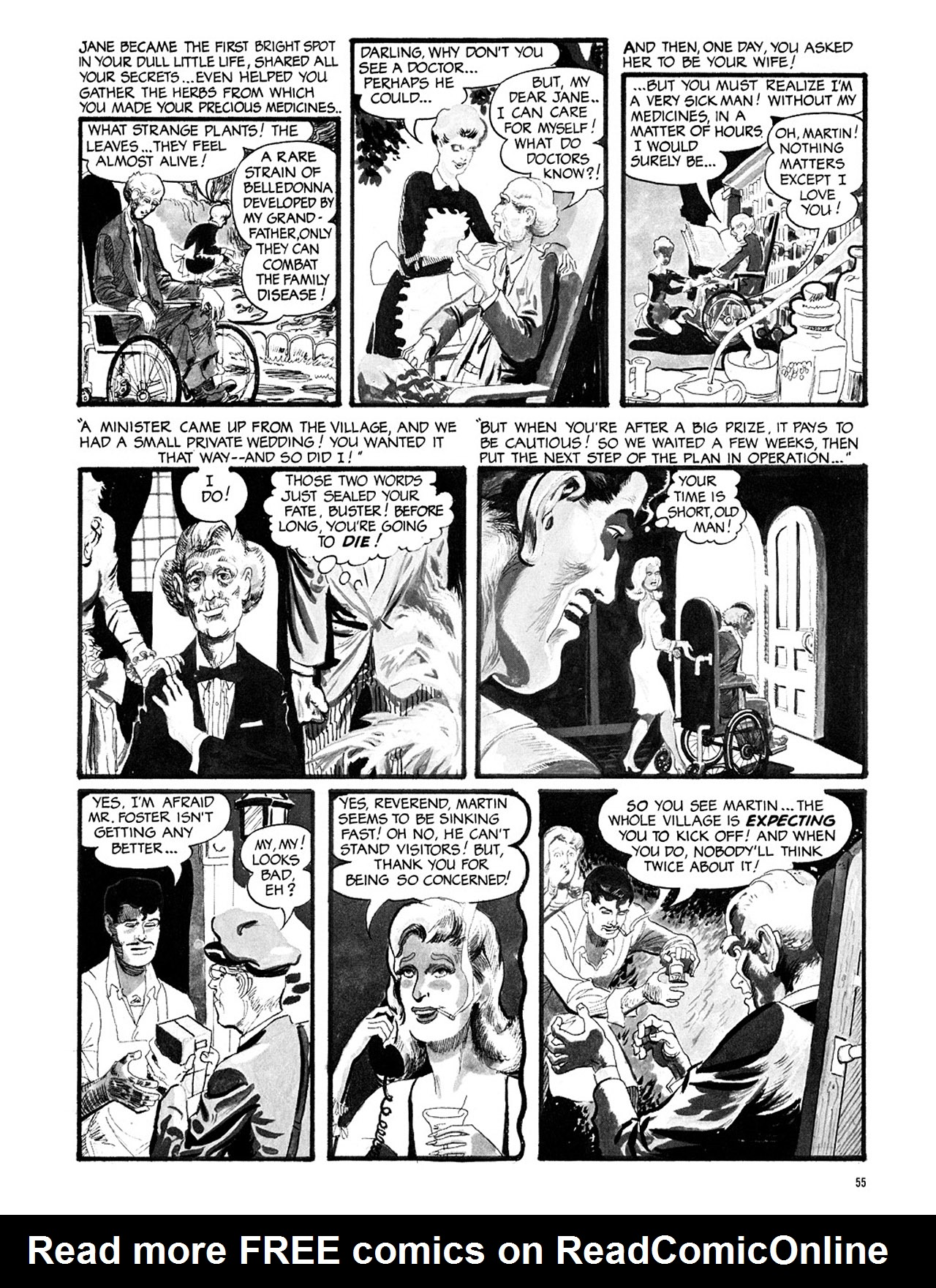 Read online Eerie Archives comic -  Issue # TPB 3 - 56