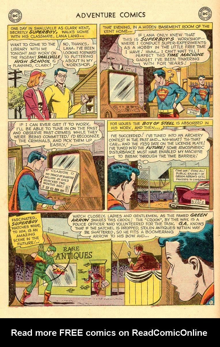 Read online Adventure Comics (1938) comic -  Issue #258 - 4