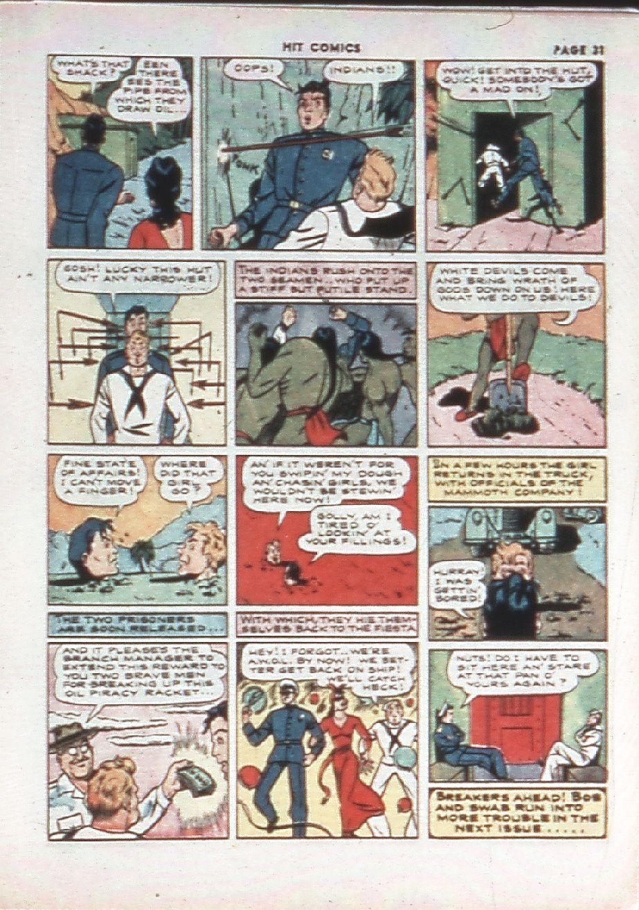 Read online Hit Comics comic -  Issue #10 - 33