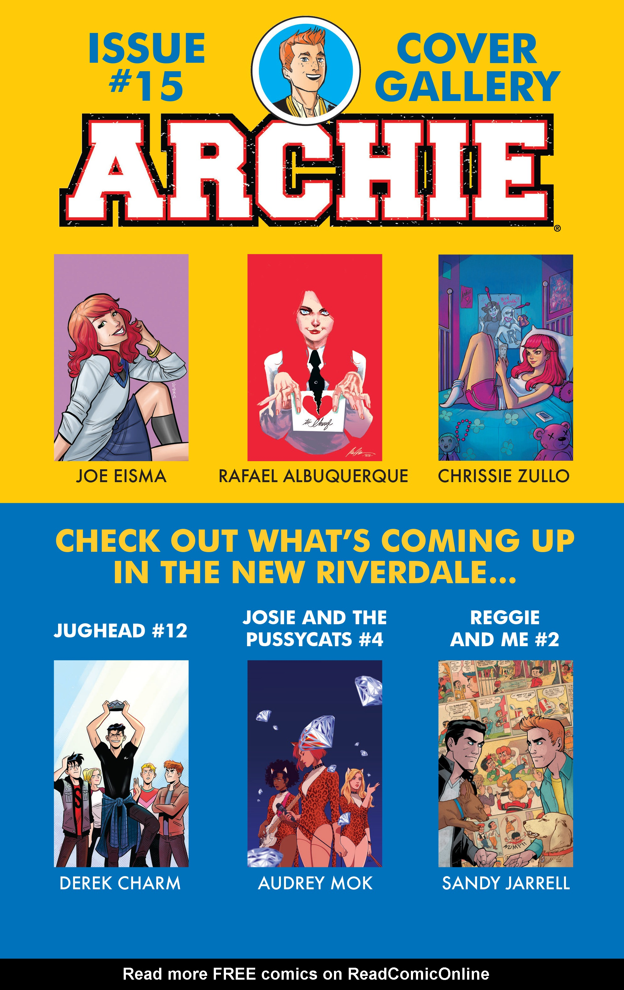 Read online Archie (2015) comic -  Issue #15 - 23