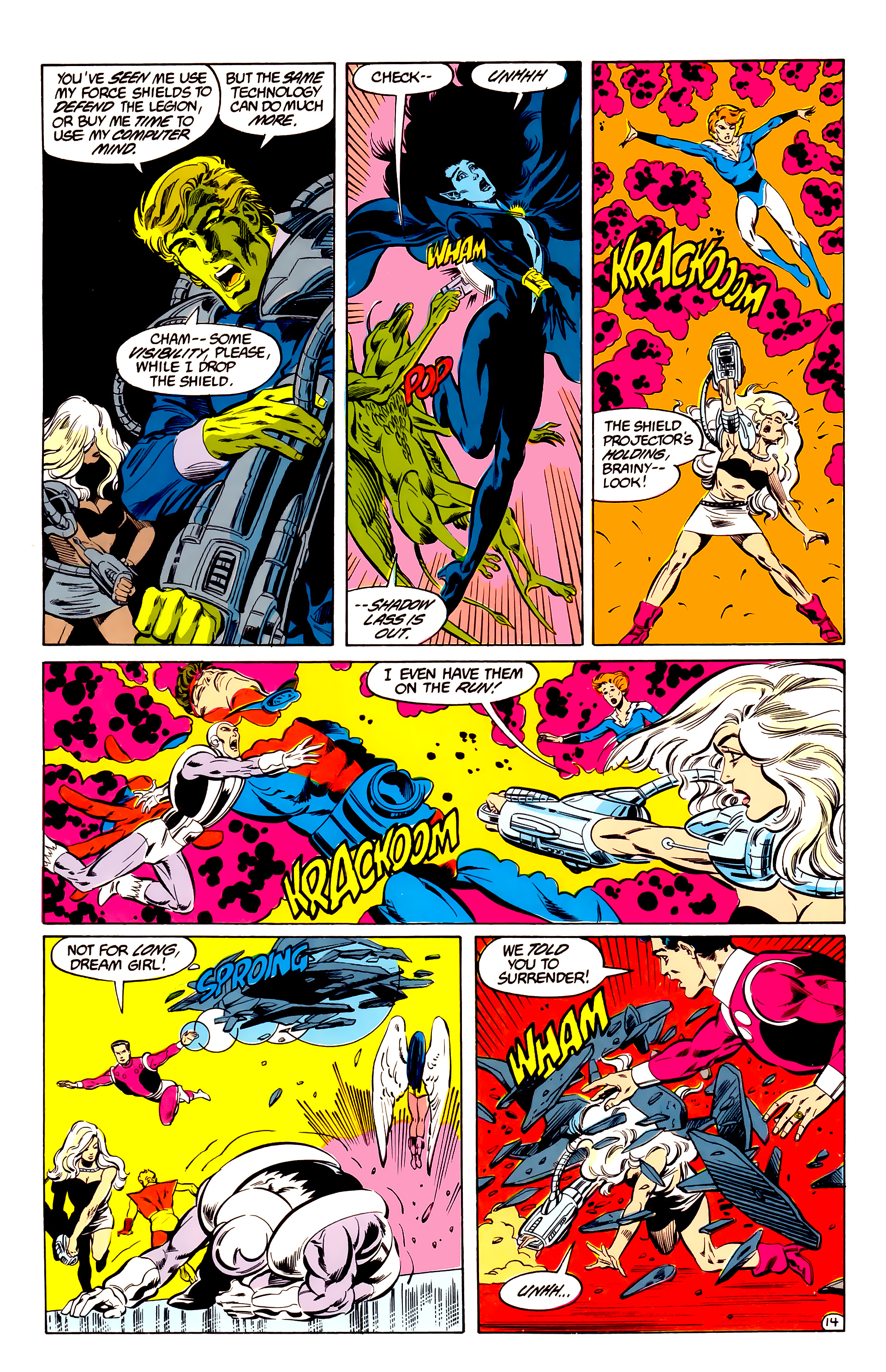 Legion of Super-Heroes (1984) 35 Page 14