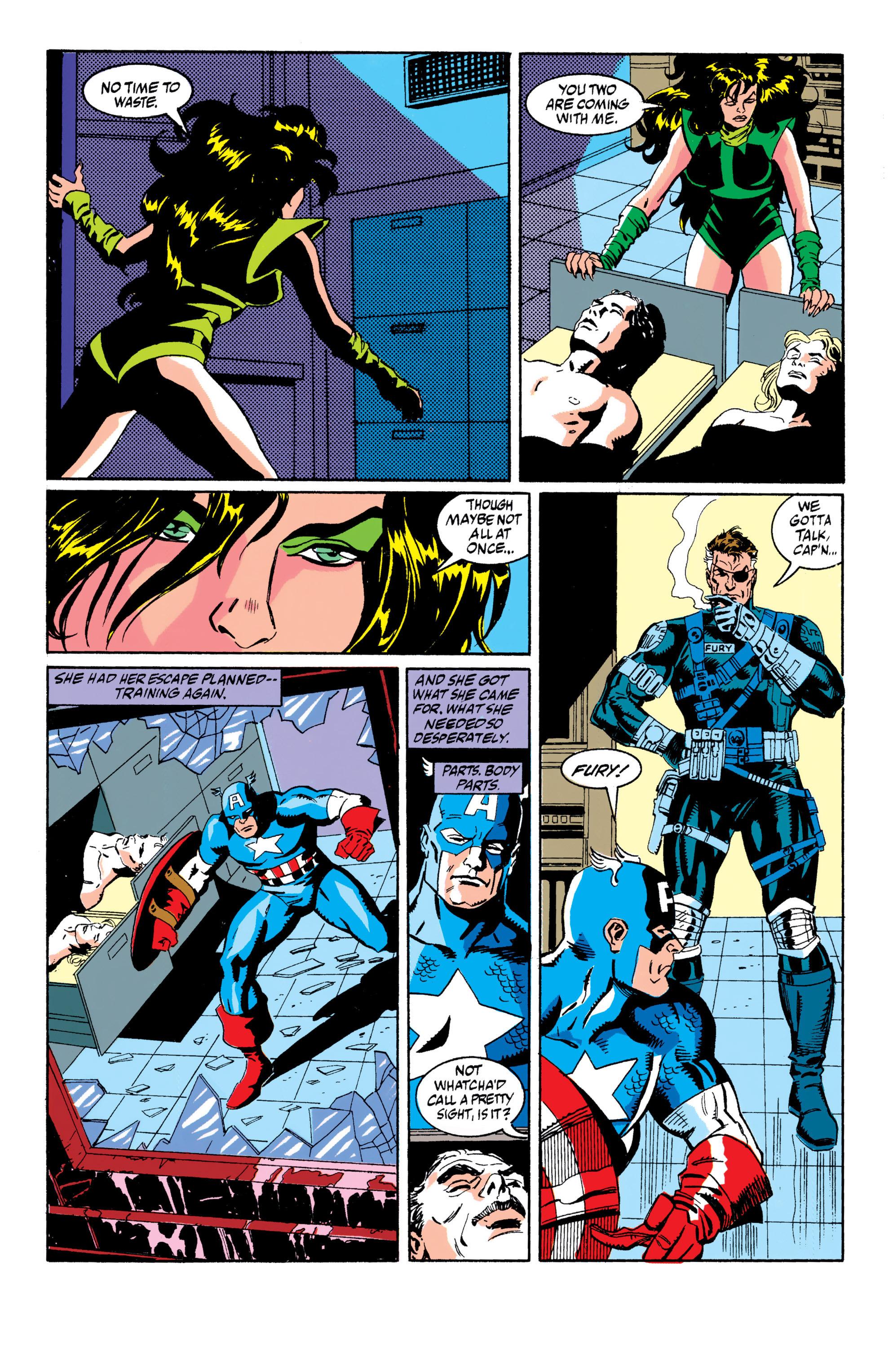 Read online Captain America (1968) comic -  Issue # _Annual 10 - 10